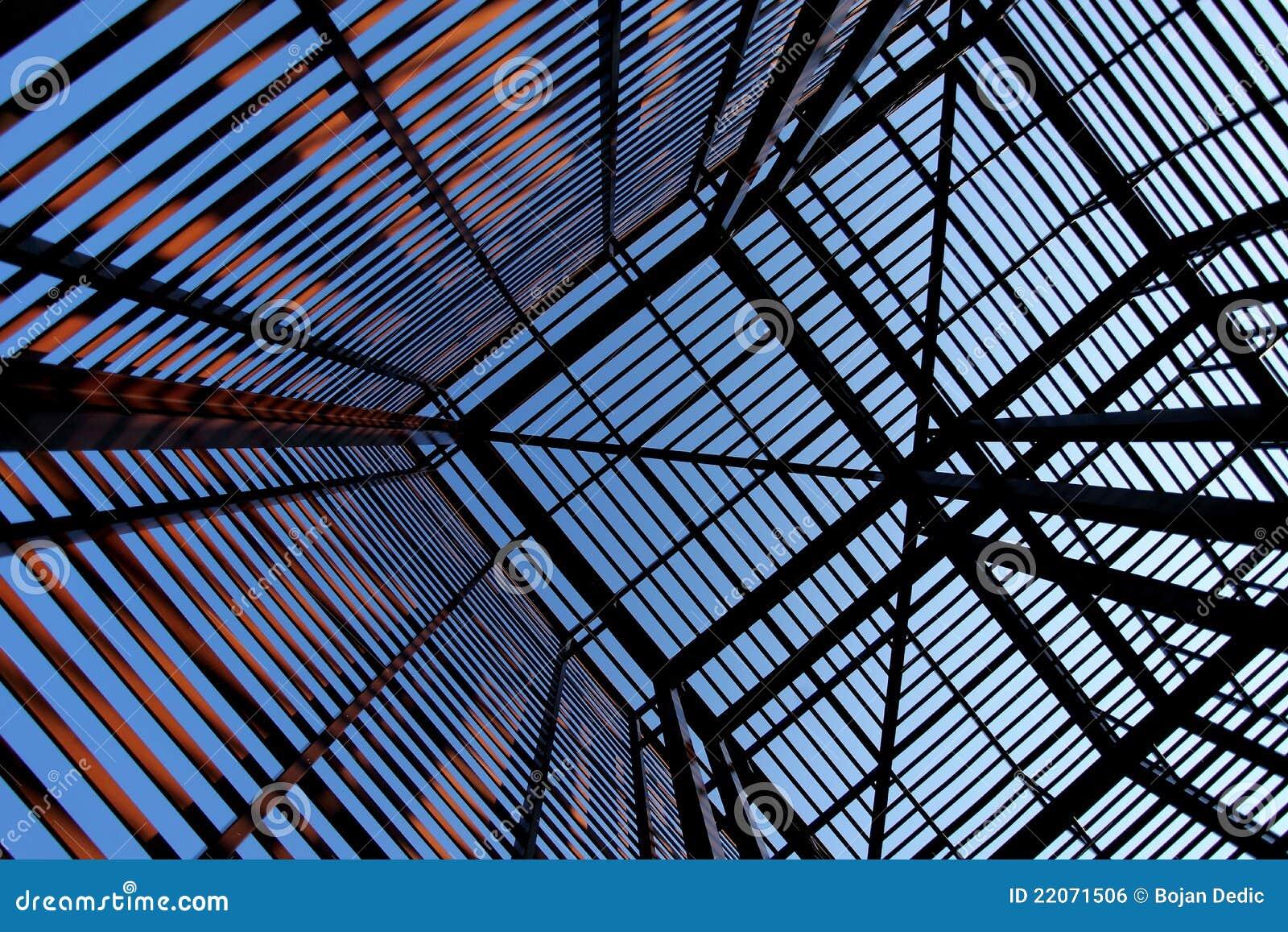 Interessante industriële metaalstructuur 2