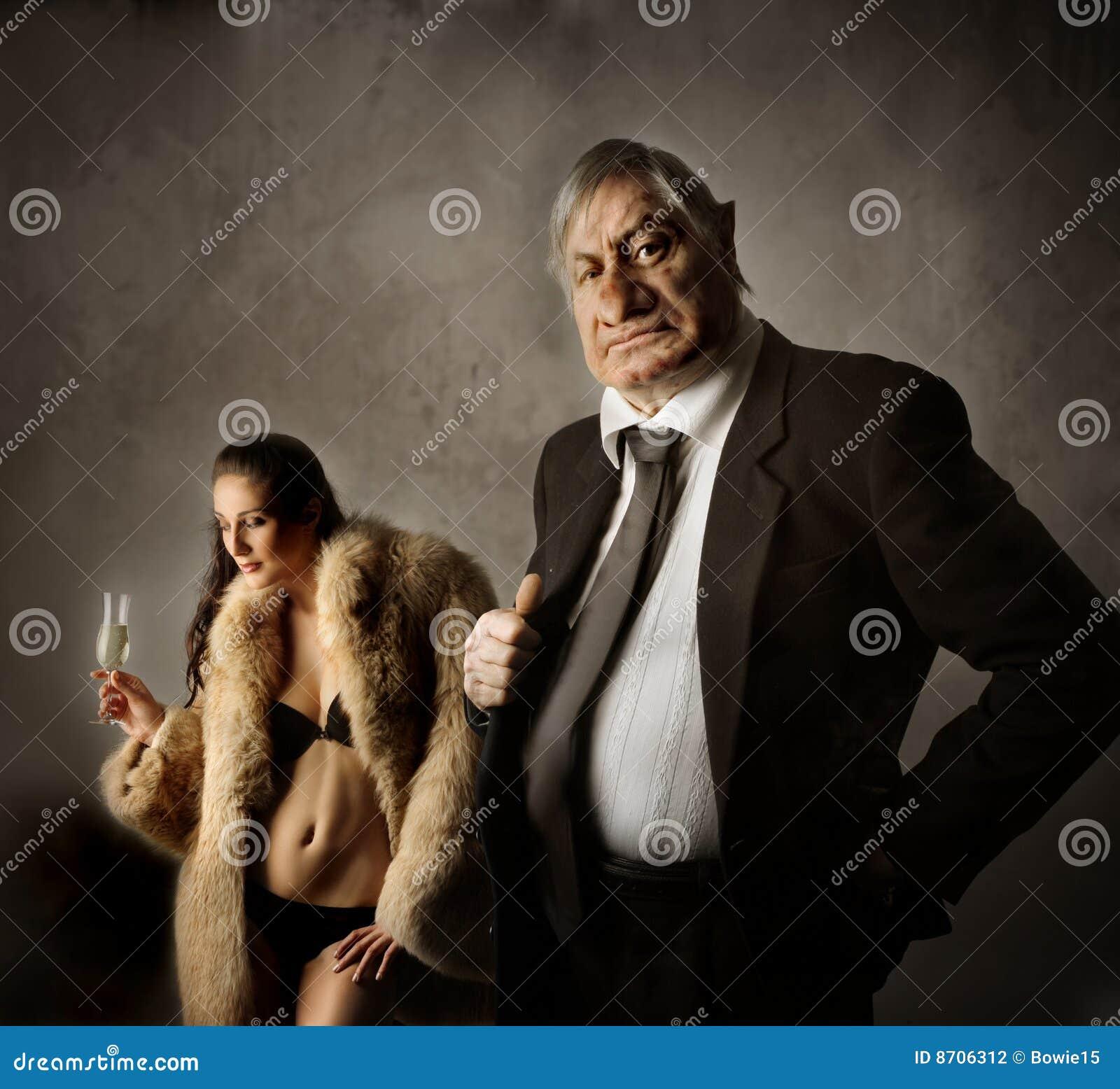 Nasty Businessman Gets Facialized