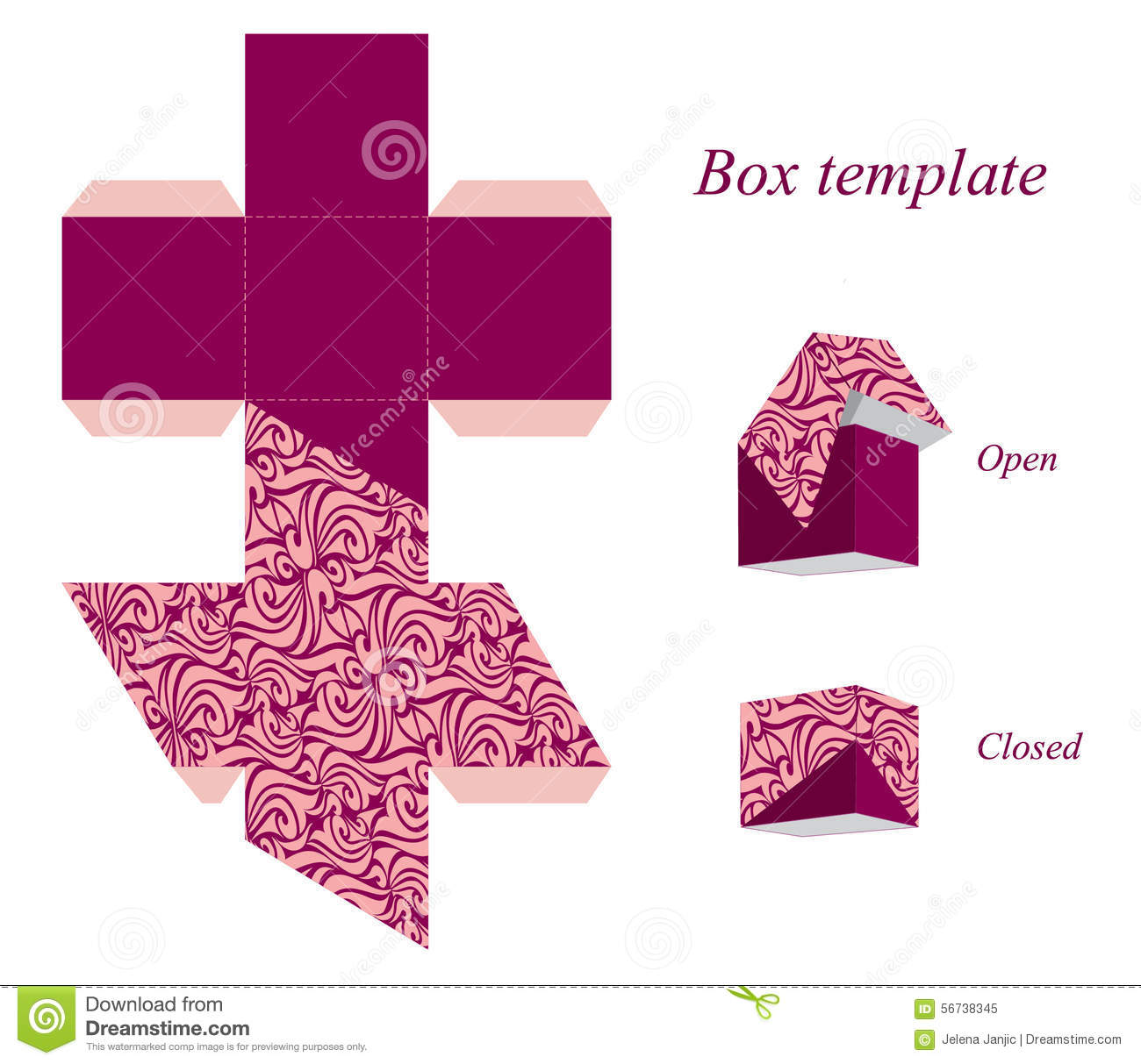 ... Printable T Box Templates as well Free Printable Favor Boxes Templates