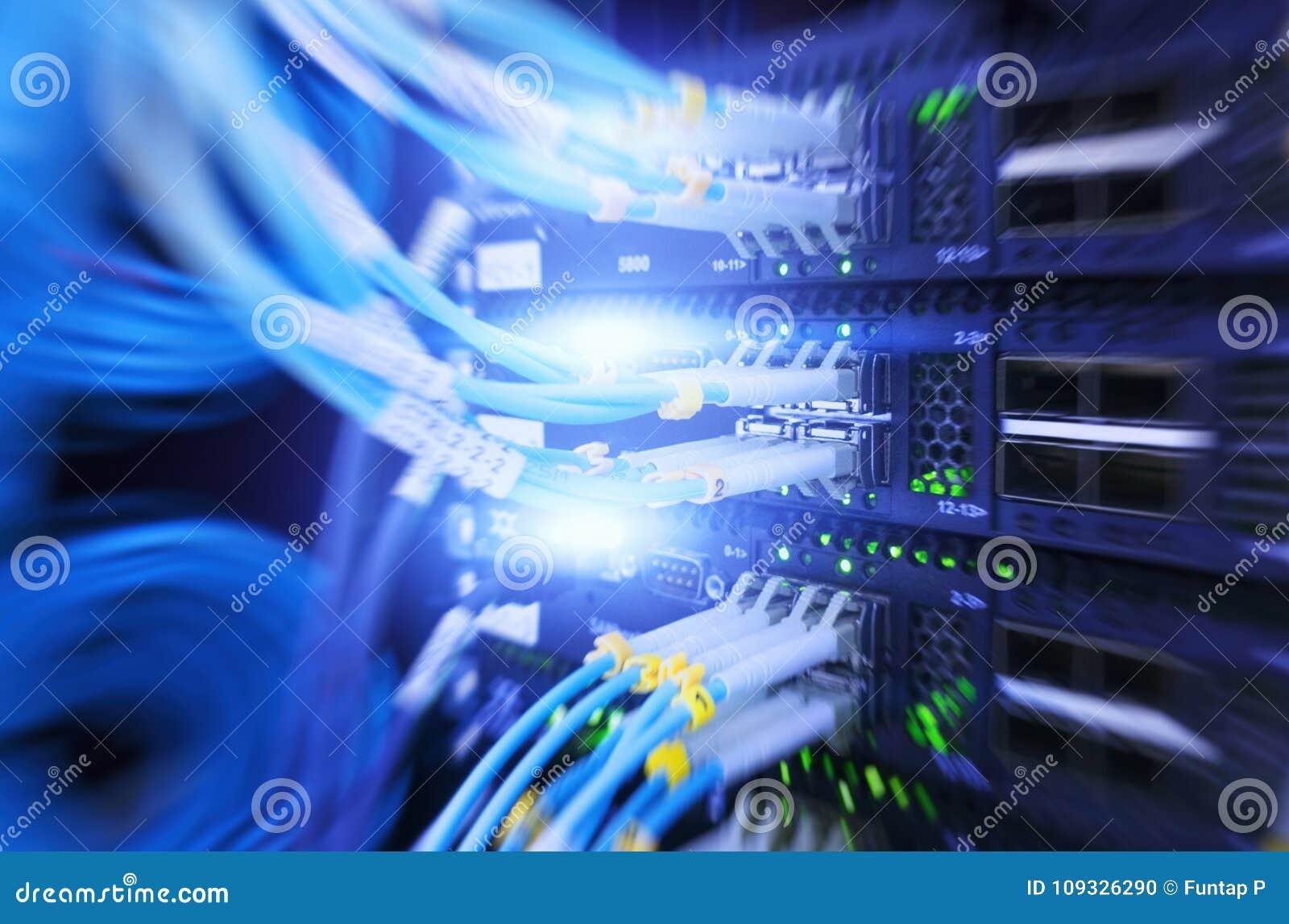 Interfaccia del connettore ottico della fibra Esposizione multipla Rete di computer di tecnologia dell informazione, carrozza ott