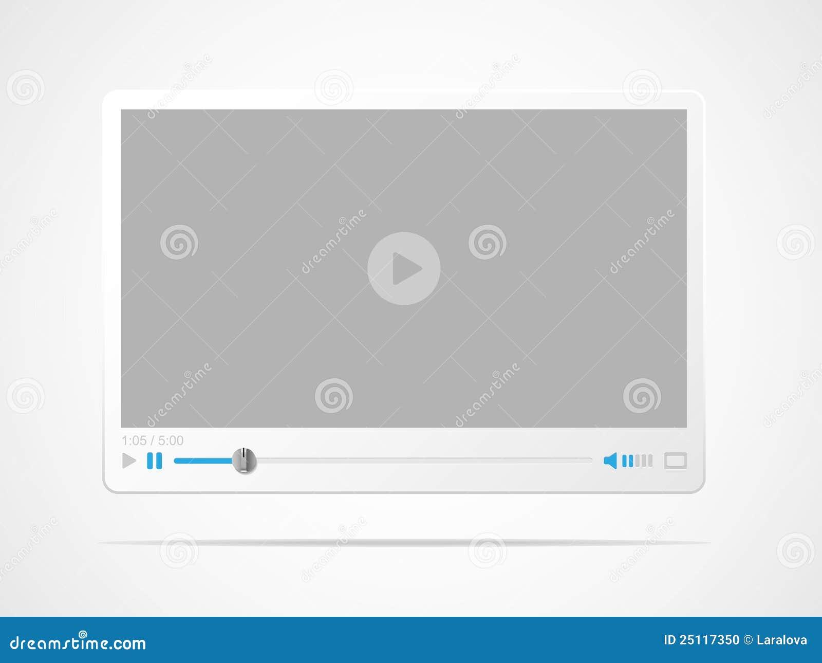 Interfaccia del riproduttore video