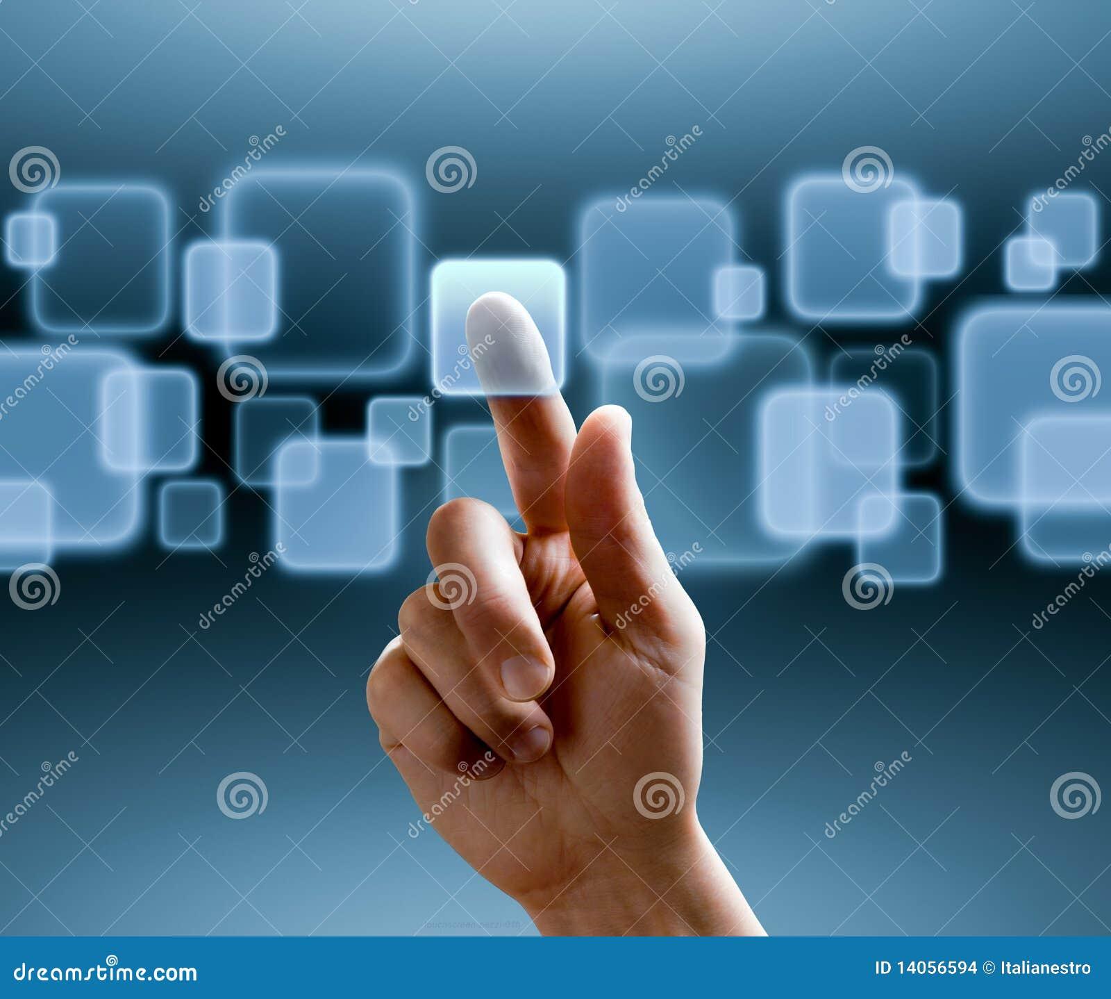 Interfaccia dello schermo attivabile al tatto