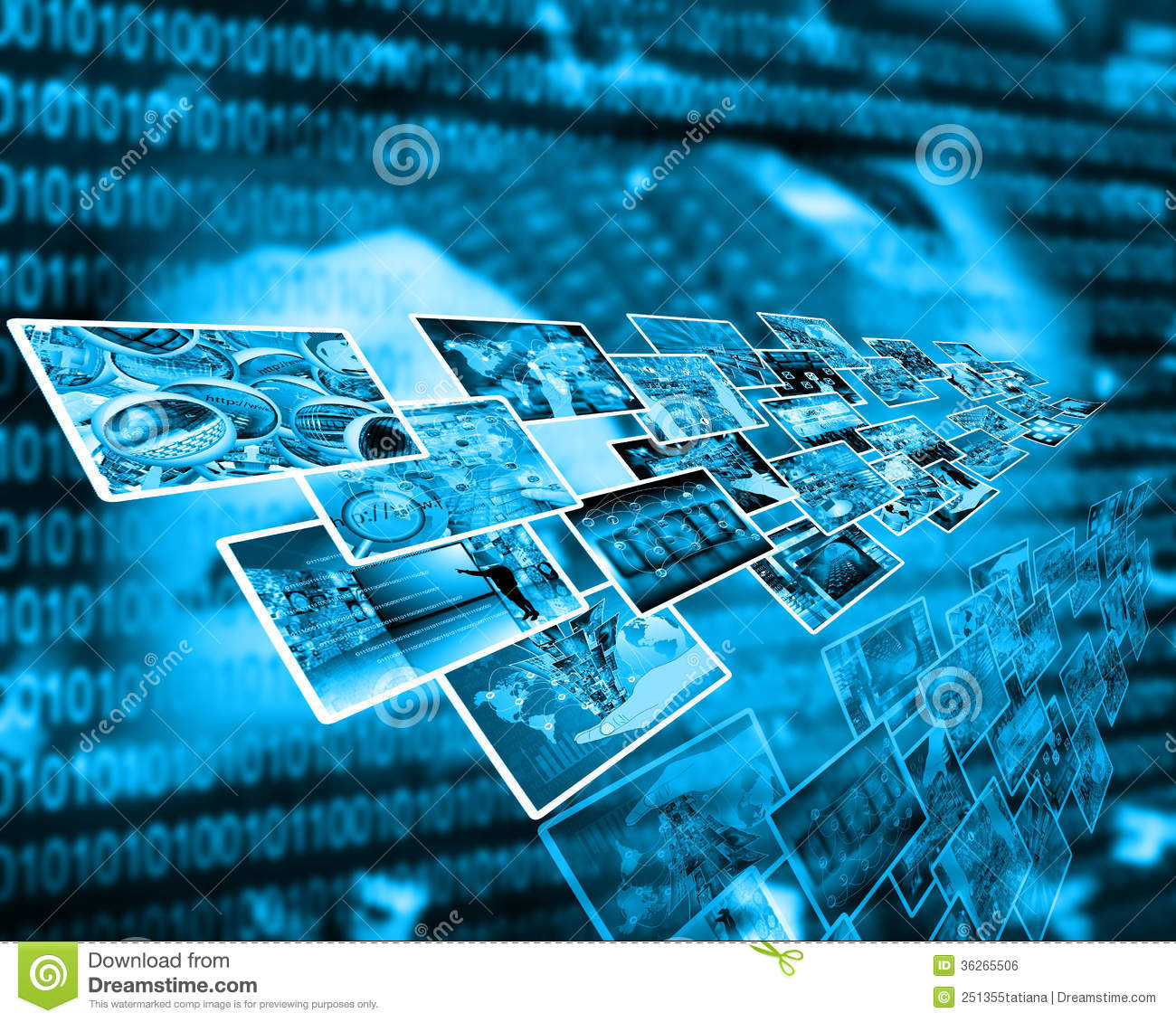 Technology Management Image: Interface Stock Photo. Image Of Digital, Perspective