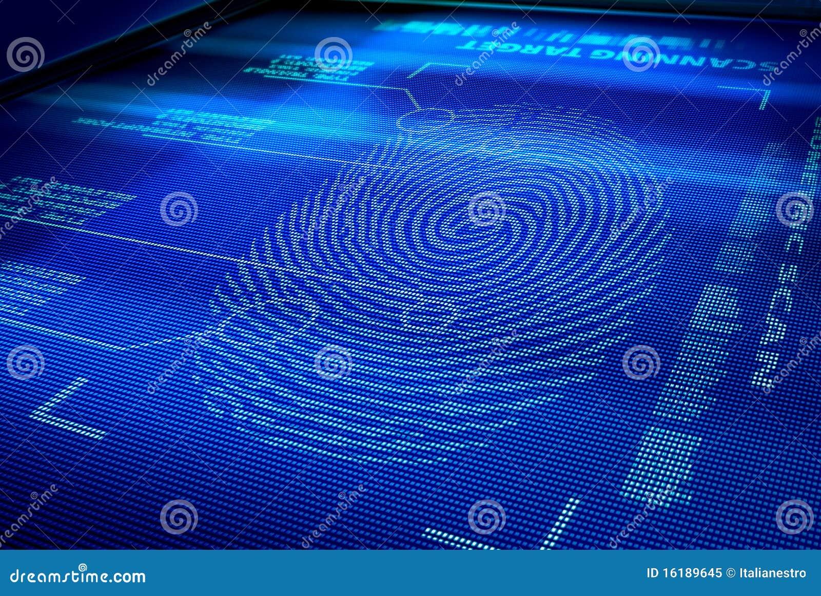 Interfaz del sistema de identificación