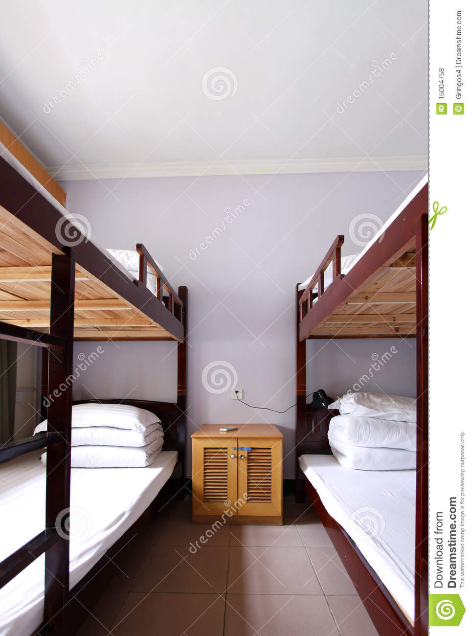 The Interior Of A 4 Bed Dorm Stock Photo Image 15004758