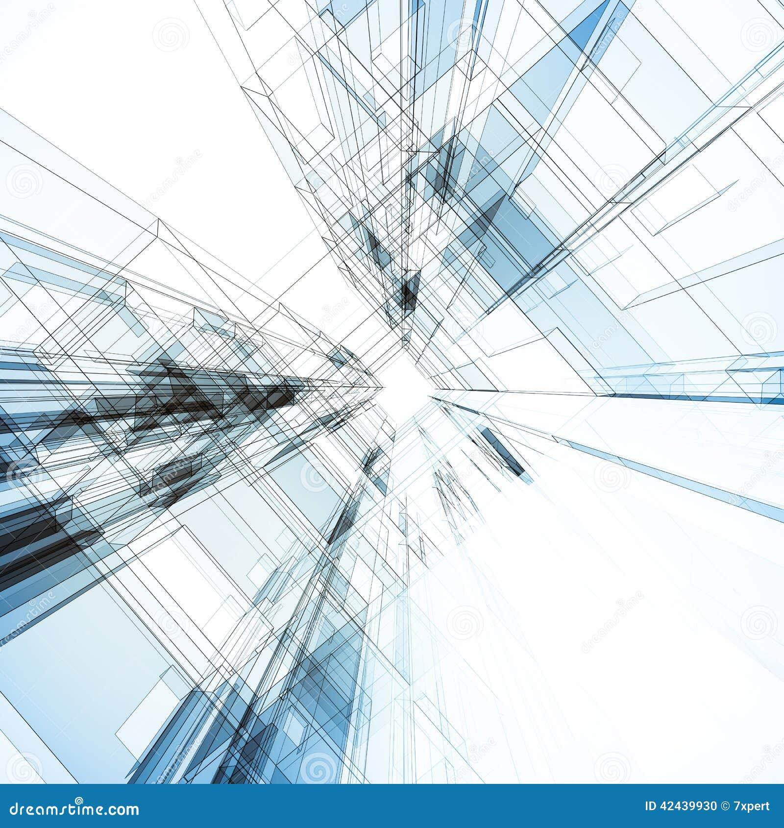 Interior abstracto