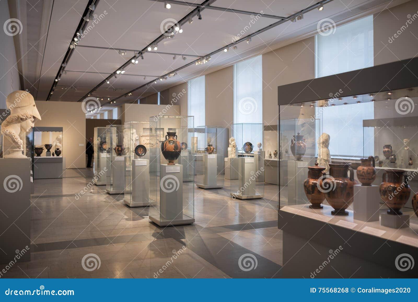 Interior Of Altes Museum Berlin Editorial Stock Photo - Image of ...