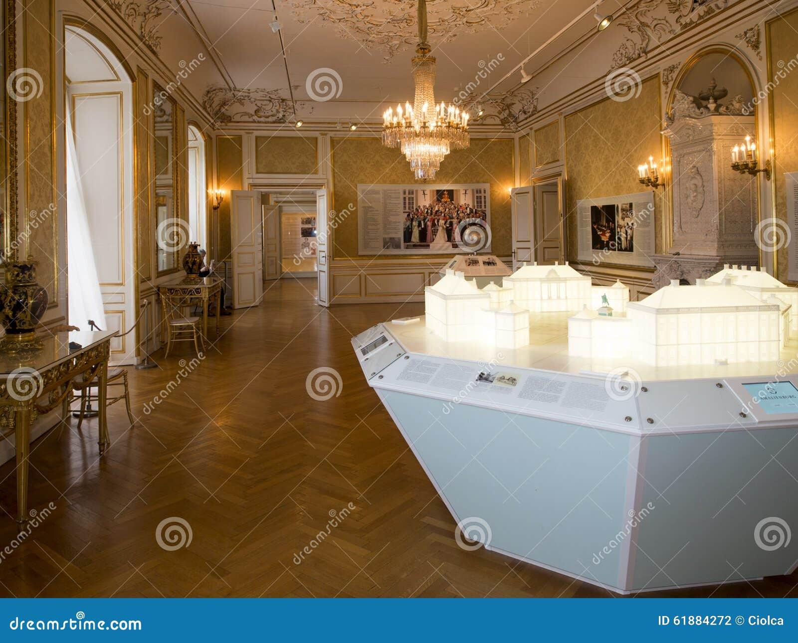 Amalienborg Interior Interior Of Amalienbor...