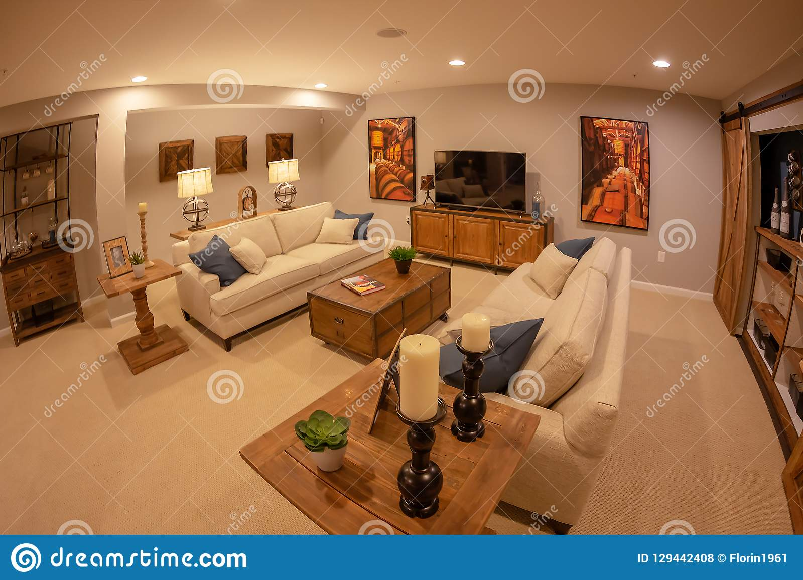 Home interior in usa