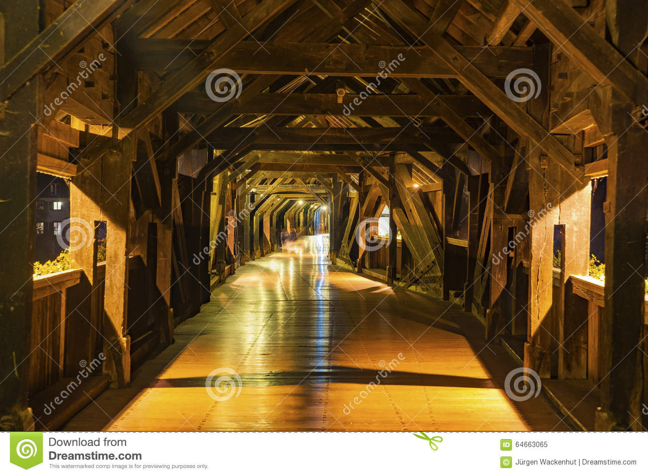 bad framing photography. Download Interior Architecture Of The Historic Bridge In Bad Saeckingen Stock Image - Framing Photography H