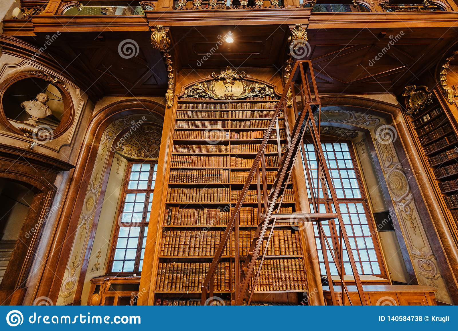 Interior of Austrian National Library