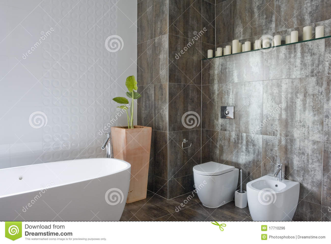 Interior Of Bathroom Royalty Free Stock Image Image 17710296