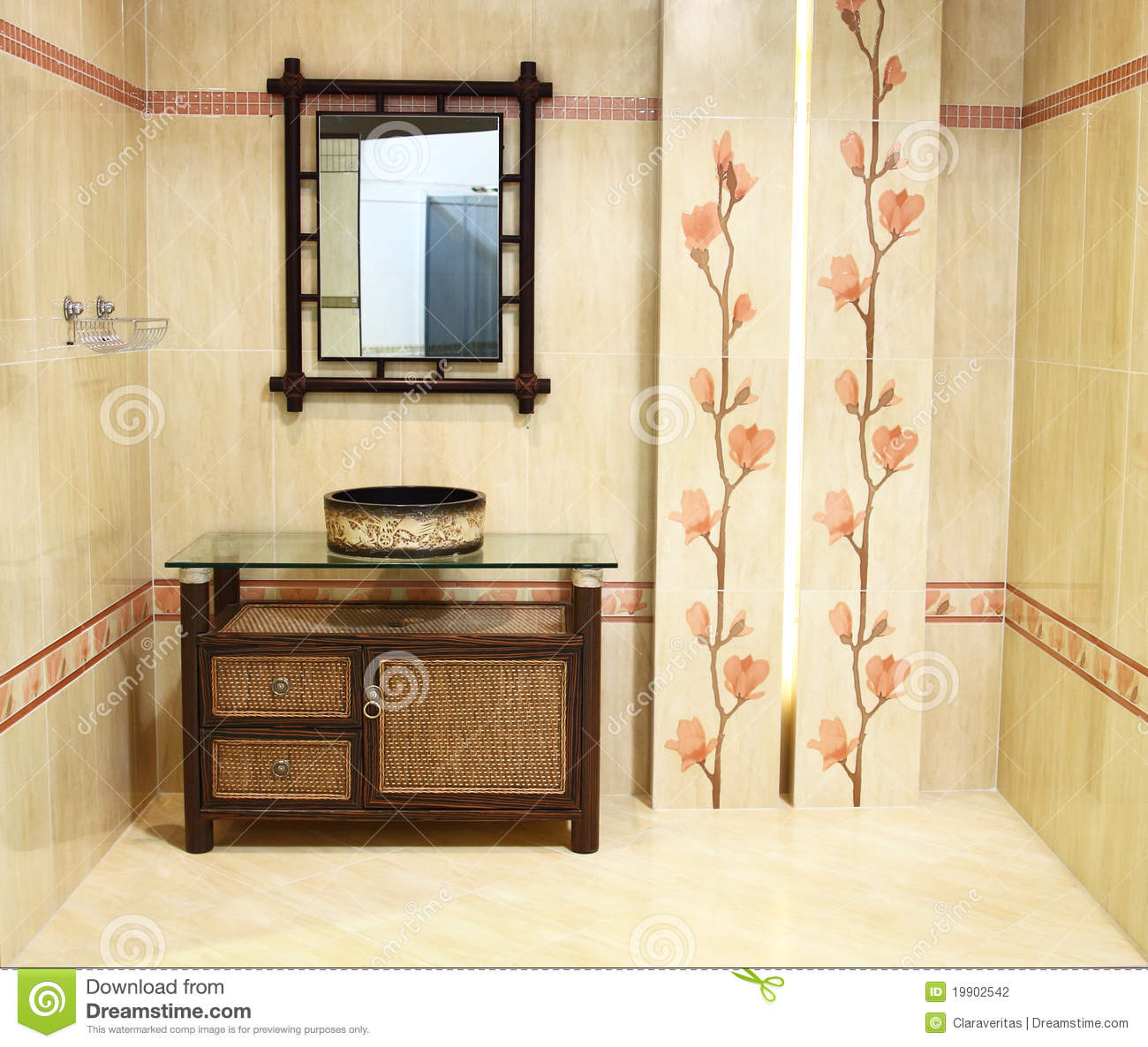 Interior of bathroom iii stock photography image 19902542 for Bathroom interior images