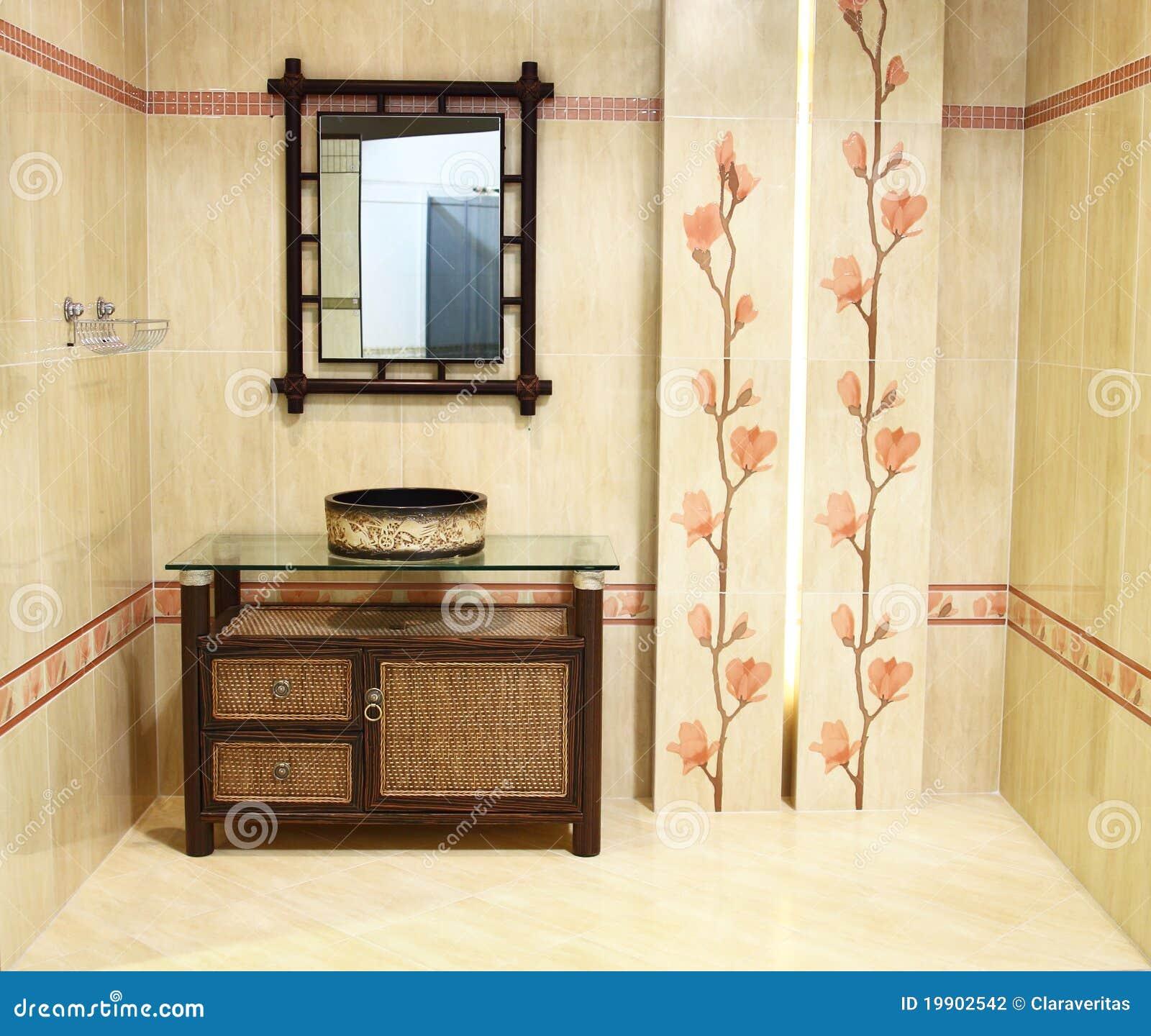 Interior of bathroom iii stock photography image 19902542 for Bathroom interior images