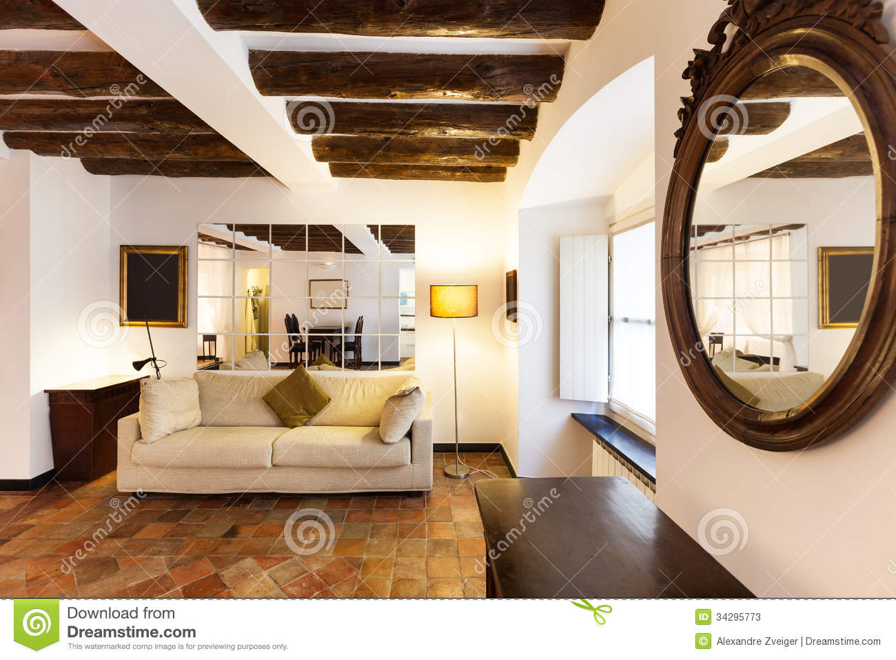 Interior beautiful apartment stock photos image 34295773 Beautiful apartment interiors