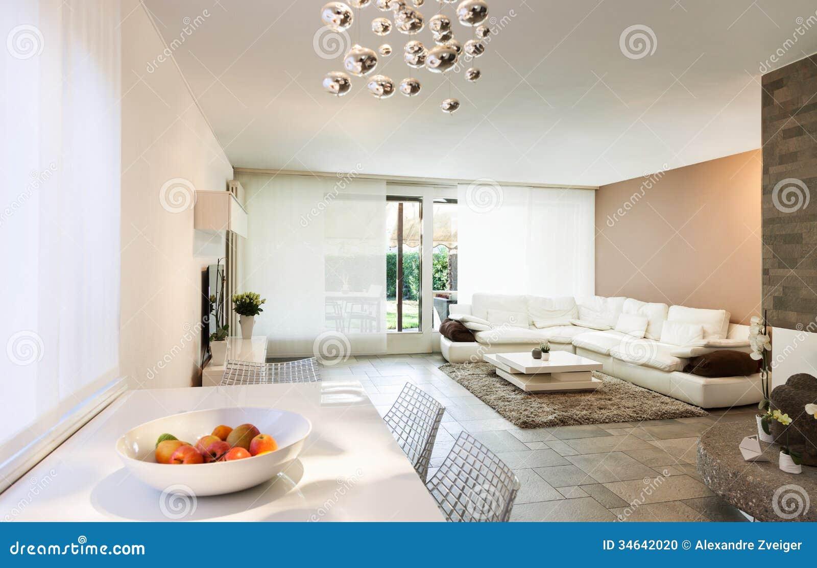 Interior beautiful apartment stock photo image 34642020 for Beautiful flats interior