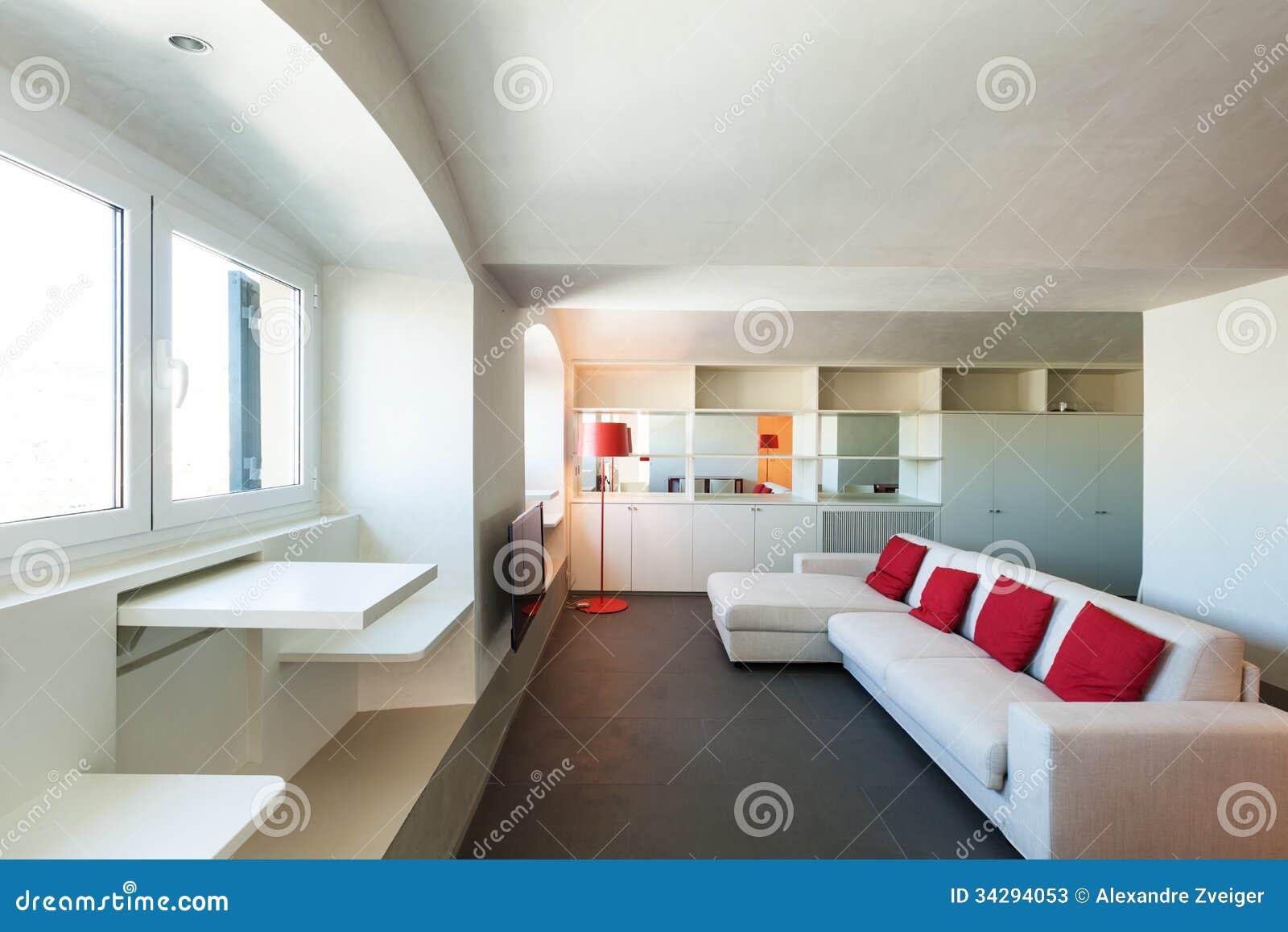 Interior beautiful apartment modern furniture stock for Beautiful flats interior