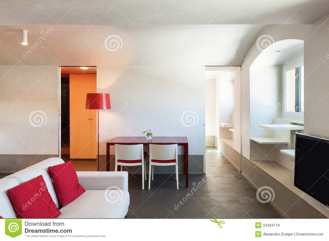 Interior beautiful apartment royalty free stock images Beautiful apartment interiors