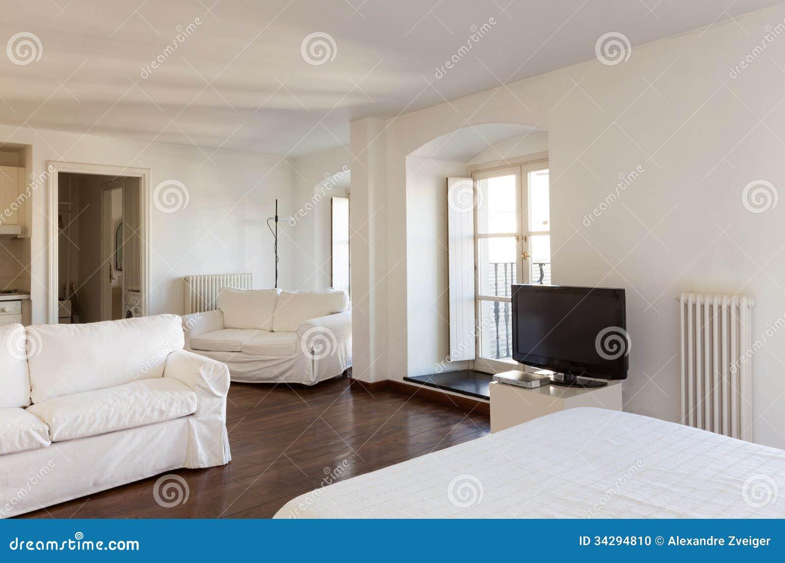 Interior beautiful apartment stock photo image 34294810 for Beautiful flats interior