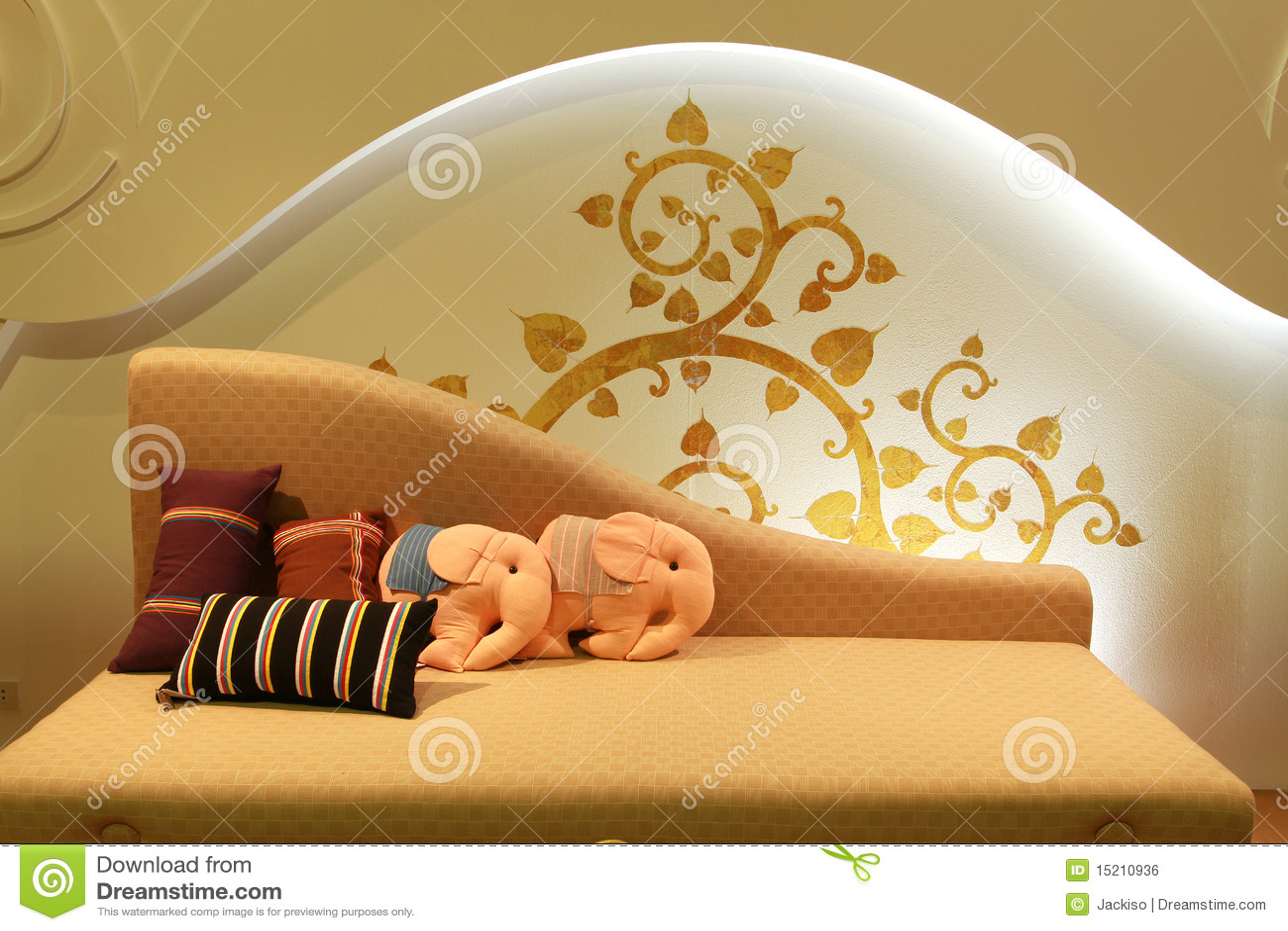 Interior bed design  Interior Bed Design Royalty Free Stock Image Image  15210936. Bed Dizain