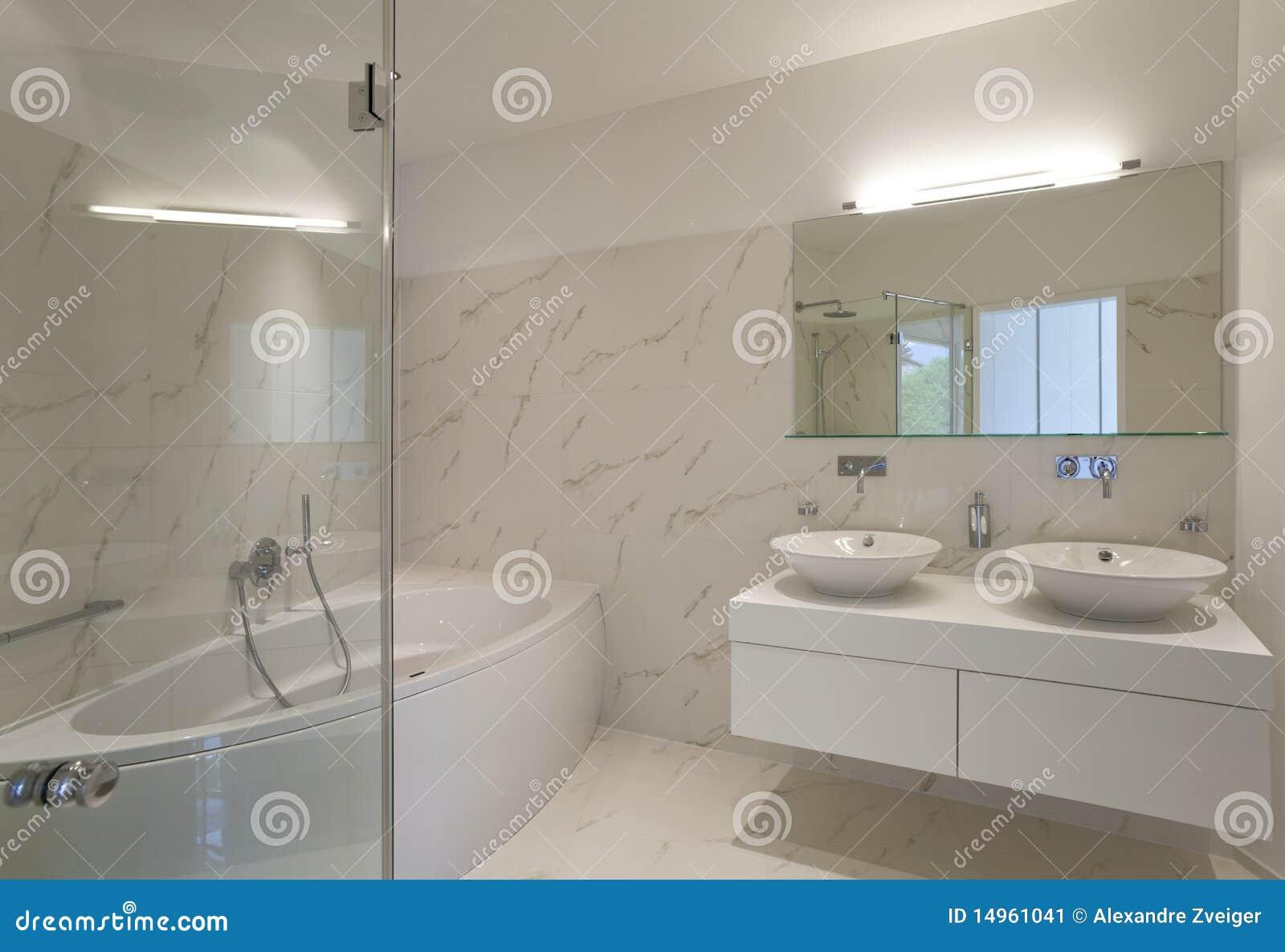 Interior bonito de uma casa moderna imagem de stock - Casas modernas interior ...