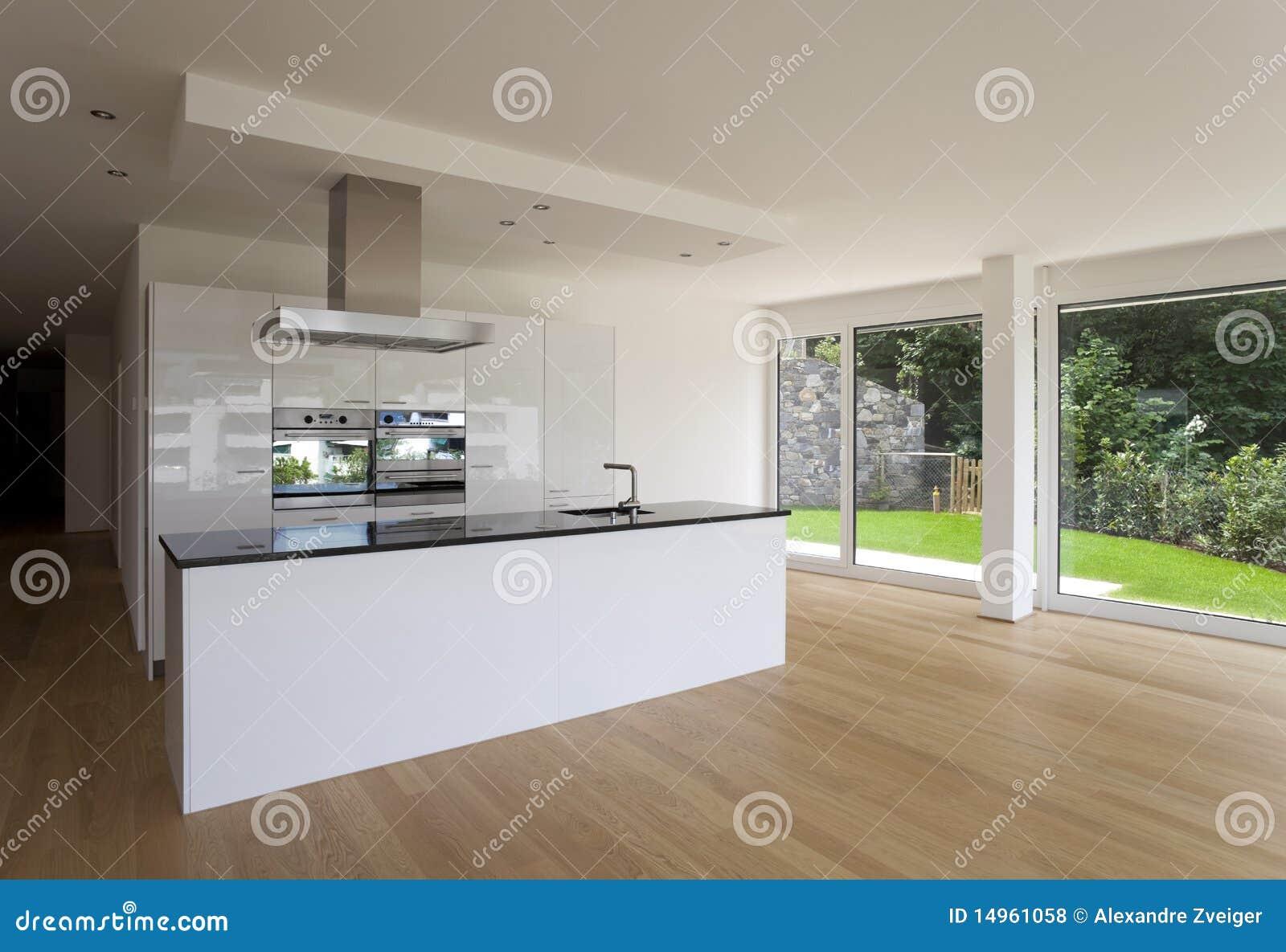Interior Bonito De Uma Casa Moderna Fotos de Stock Royalty Free  #7C9A31 1300 980