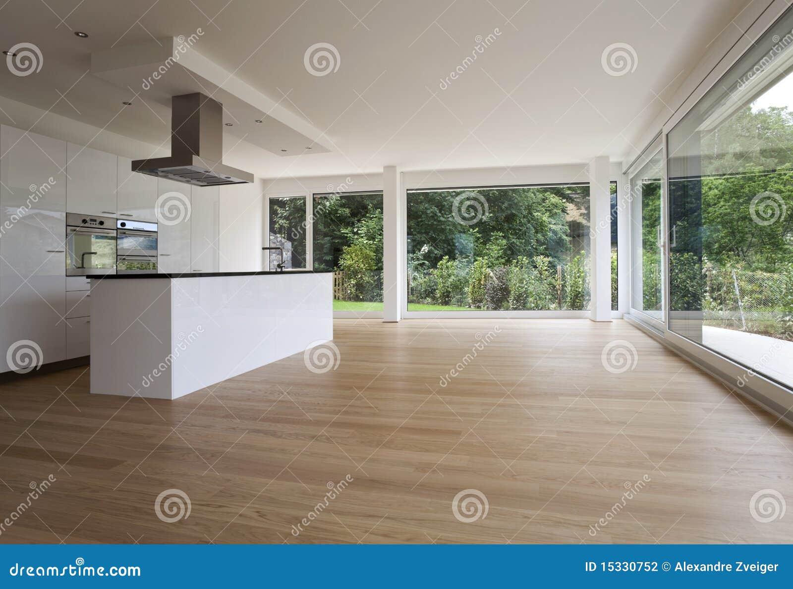 Interior Bonito De Uma Casa Moderna Foto De Stock Imagem De Parede