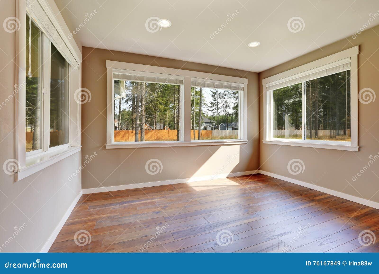 Interior Brandnew Da Construção Da Casa Quarto Vazio
