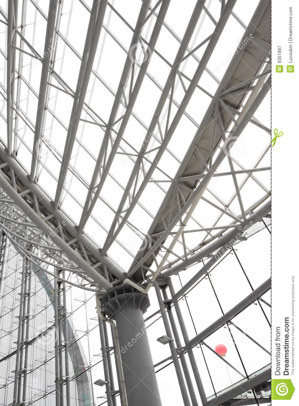 Interior Building Structure Design Royalty Free Stock