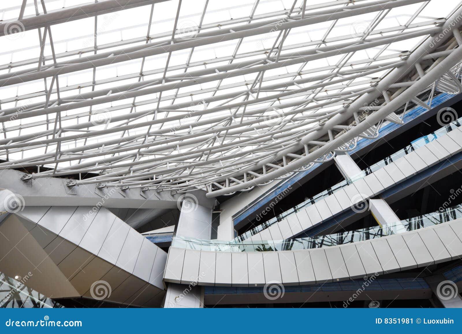Interior Building Structure Design Stock Image