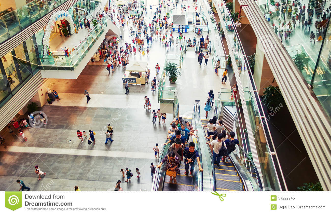 essay on a busy shopping mall A shopping mall is one or more buildings forming a complex of shops representing merchandisers, with interconnecting walkways enabling visitors to walk from unit to.