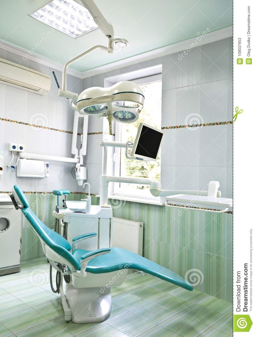 Photo De Cabinet Medical interior of cabinet of dentist with modern stock image