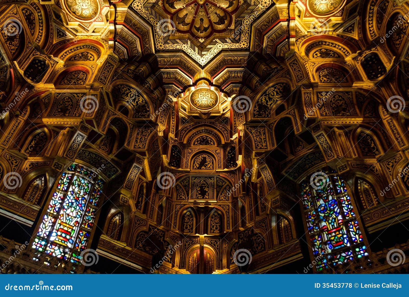 Interior of Cardiff Castle – Wales, United Kingdom