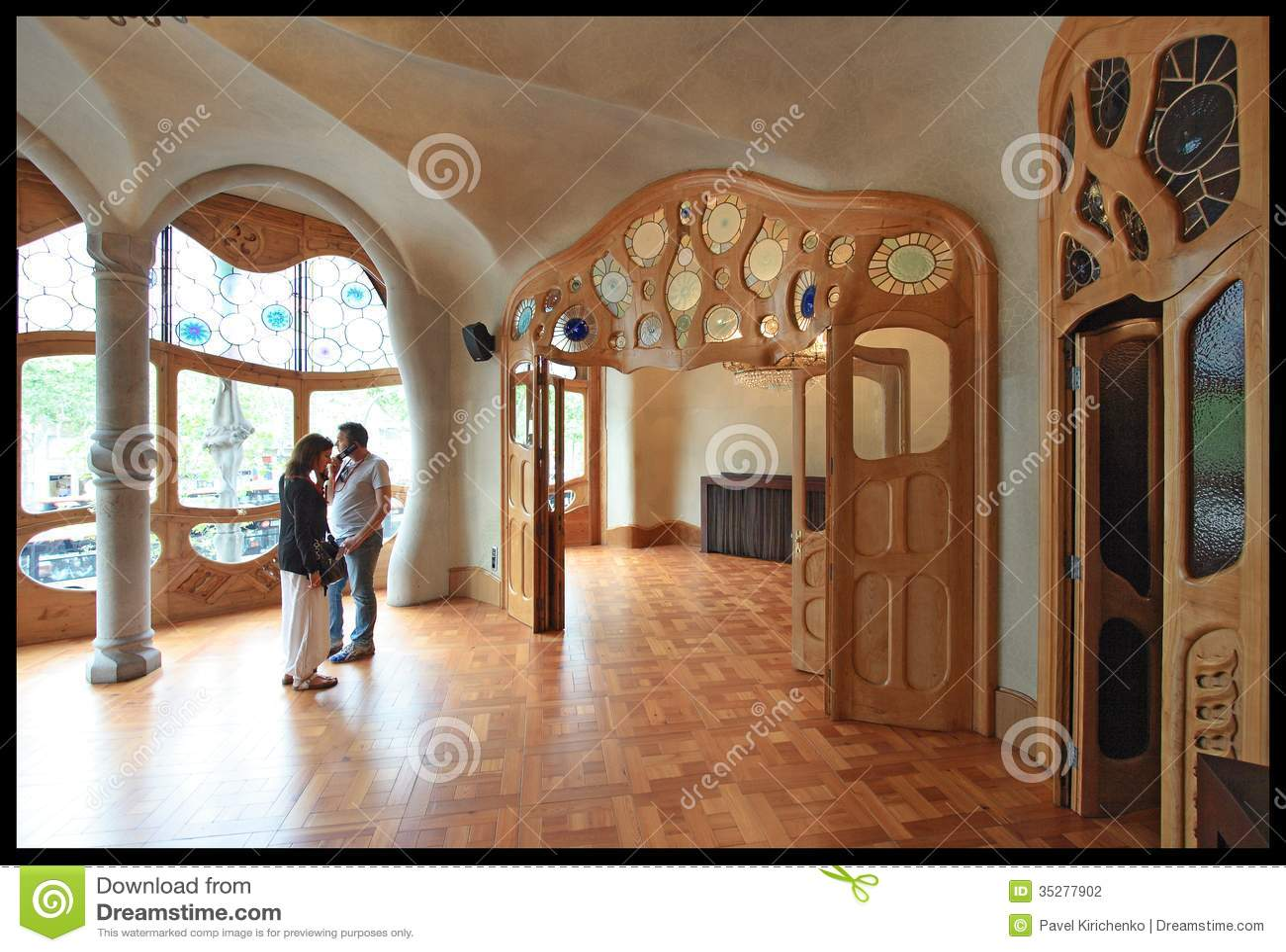 gaudi house interior - photo #16