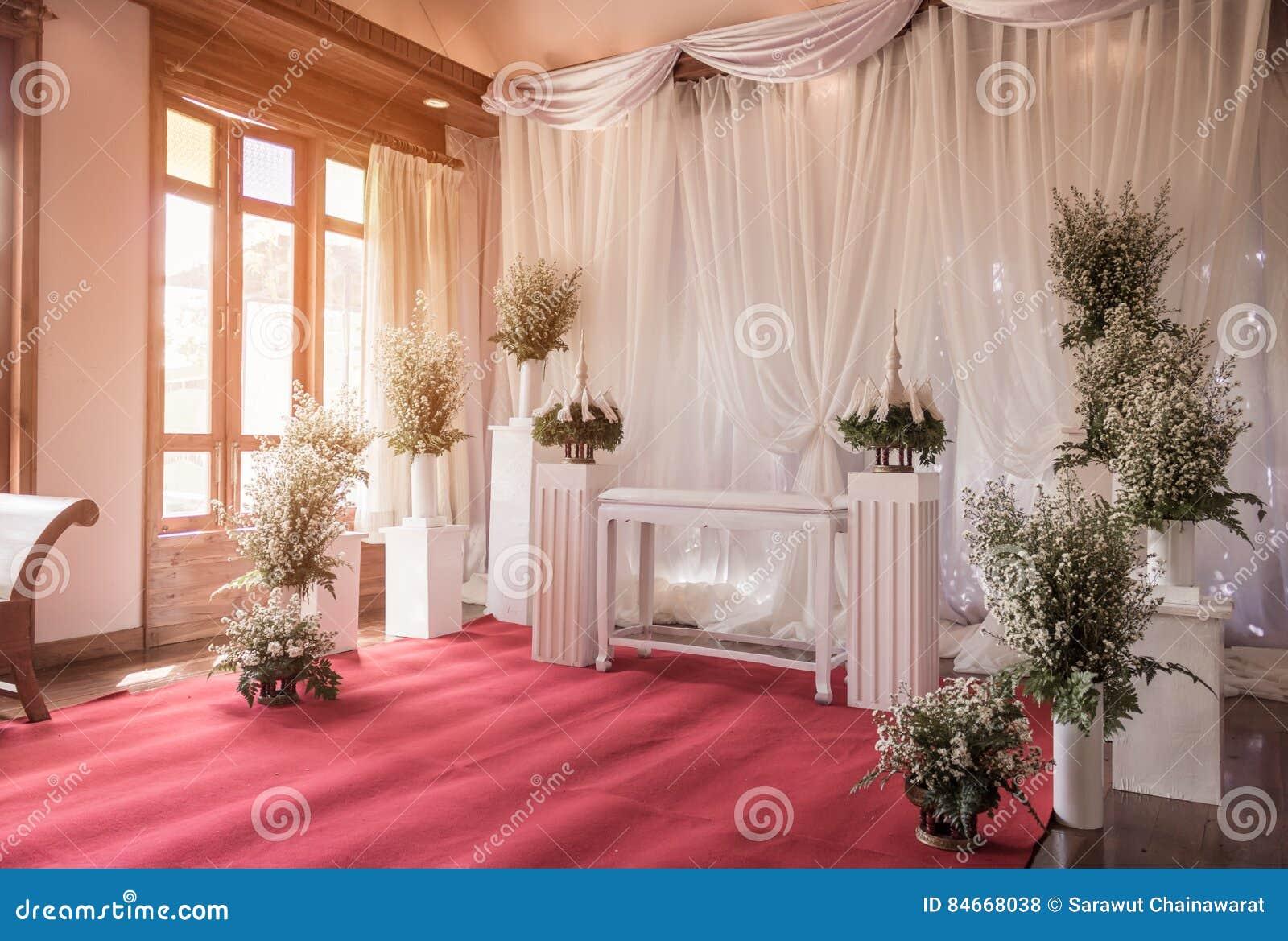 Wedding Interior Decoration Images Of Interior Ceremony Wedding Room Decoration By Red Carpet