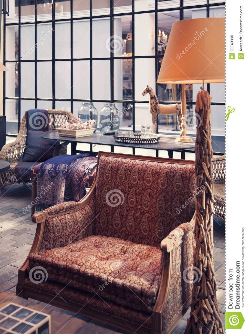 Interior with chair