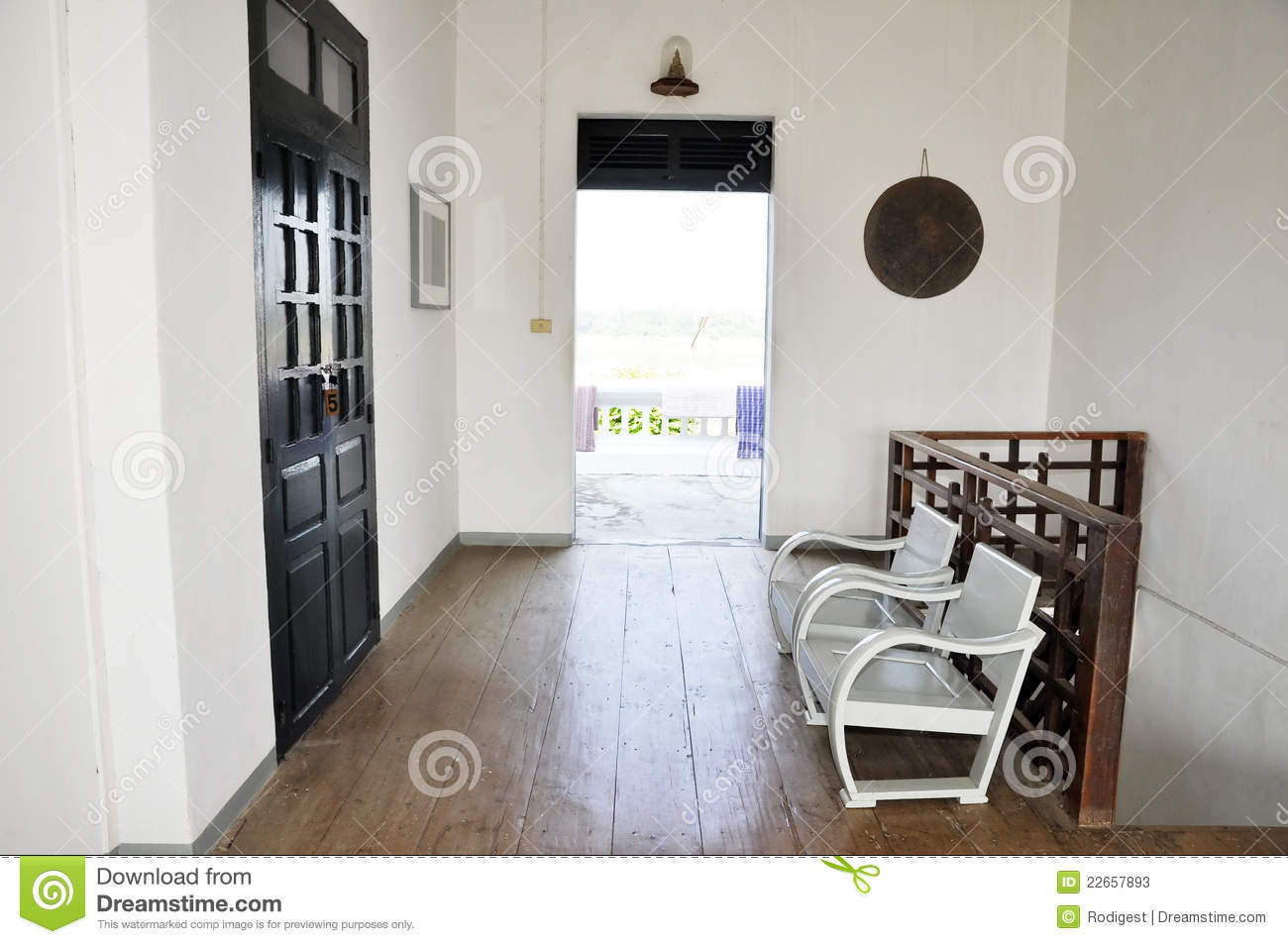 Interior Chair Home Room White Stock Image Image Of Open Indoor 22657893