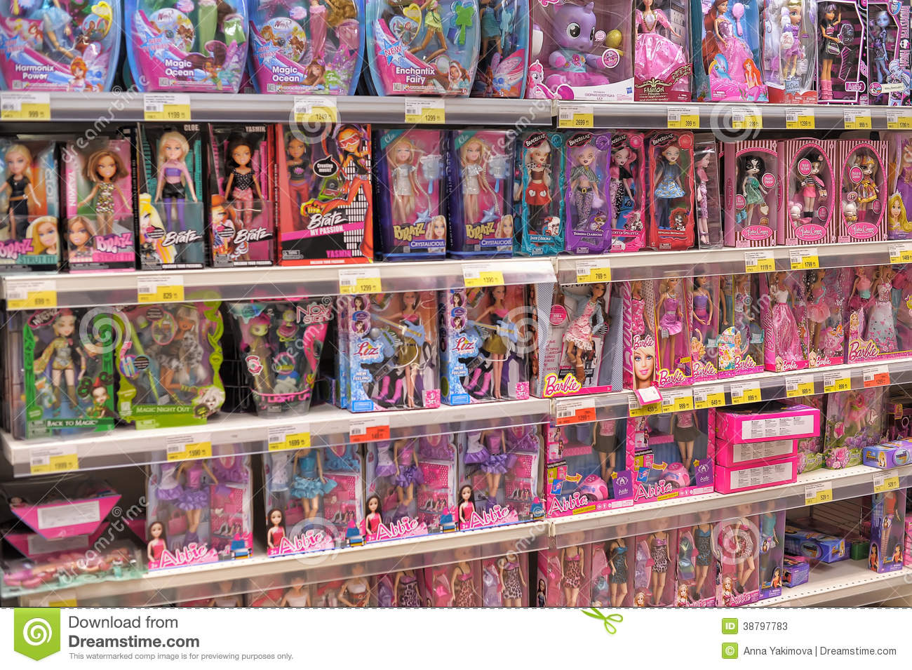 Interior Children Toys Shop Editorial Stock Photo - Image ...