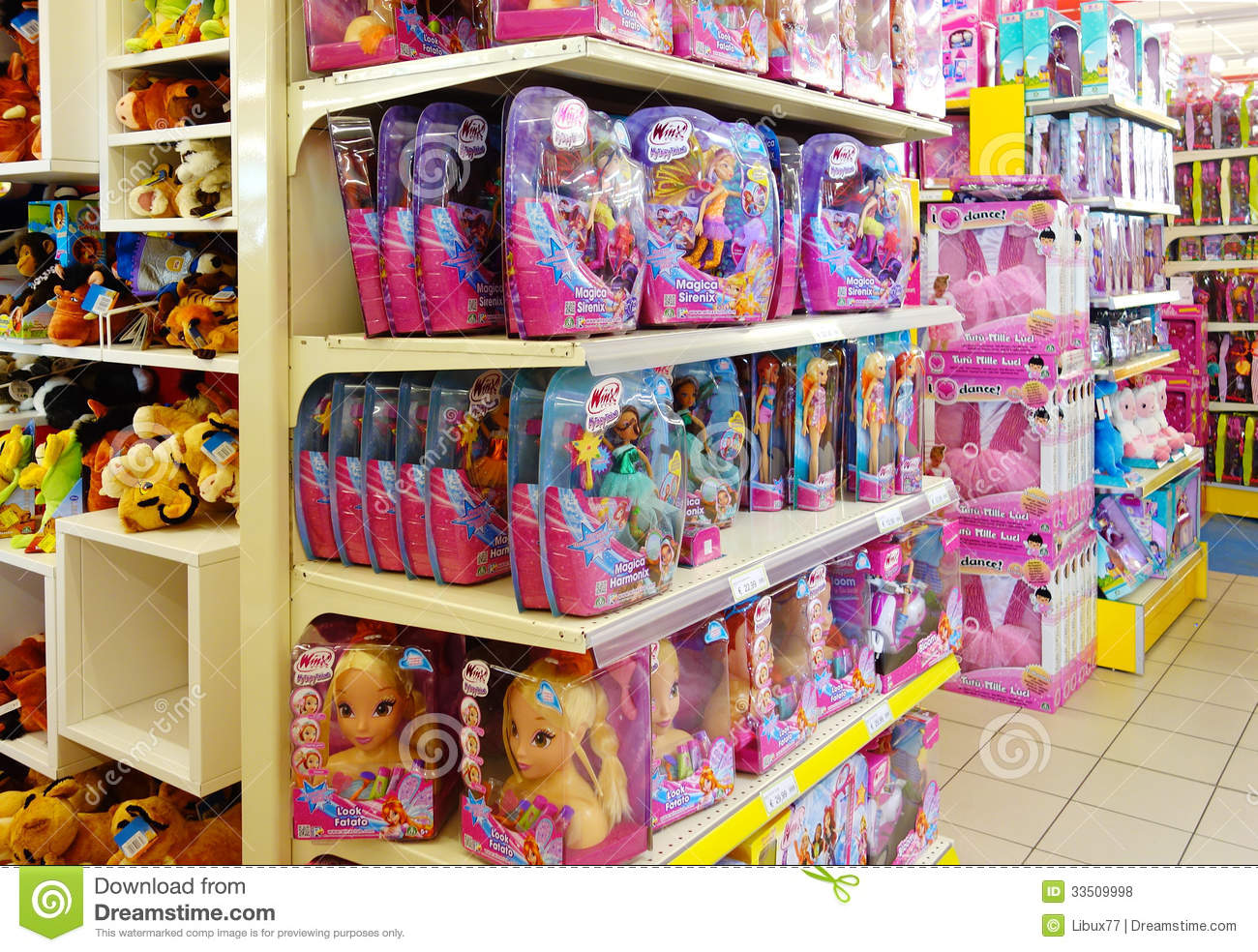 Interior Children Toys Shop Editorial Stock Photo Image