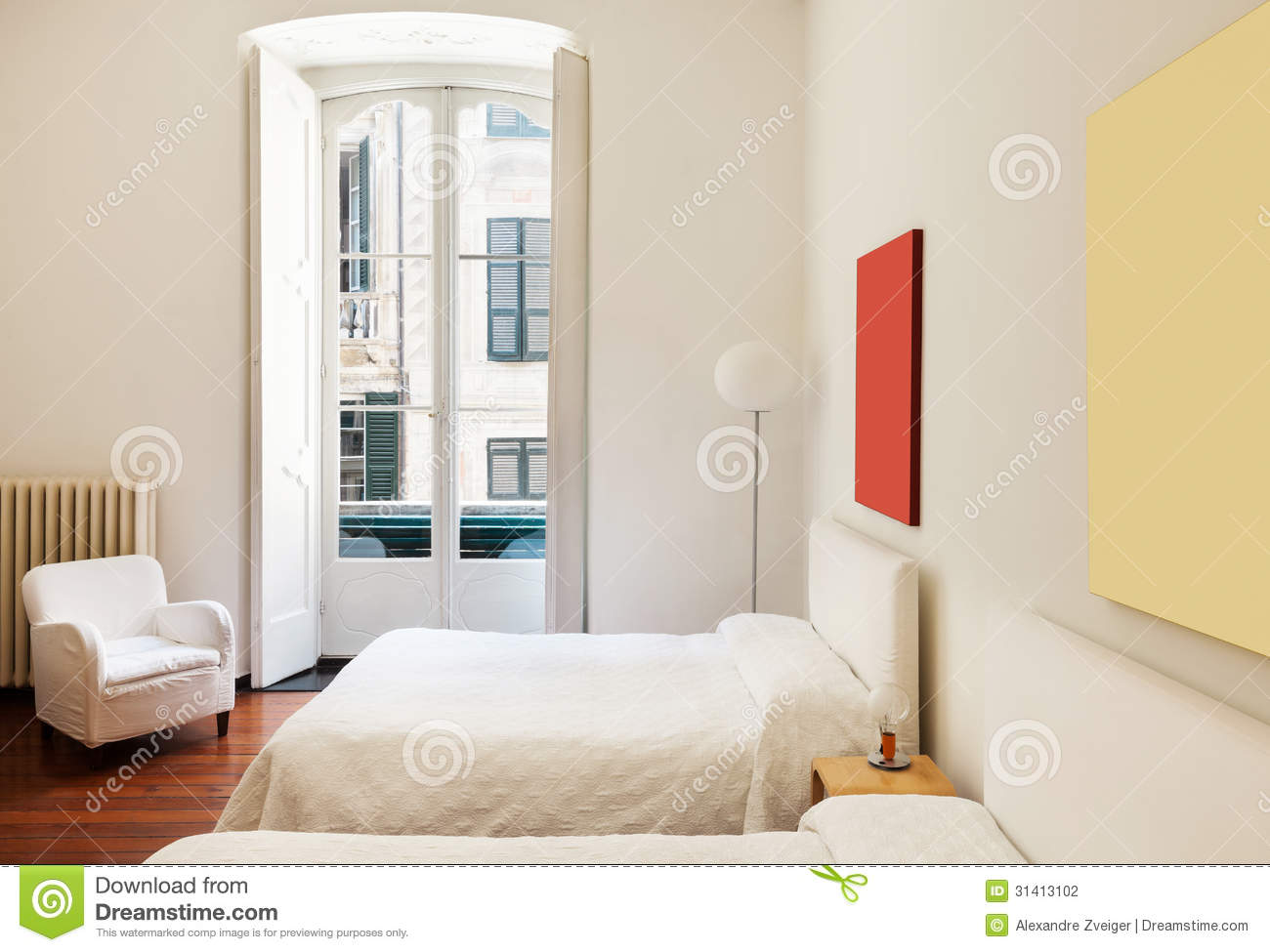 Interior classic bedroom stock photography image 31413102 for Beautiful bedroom interior