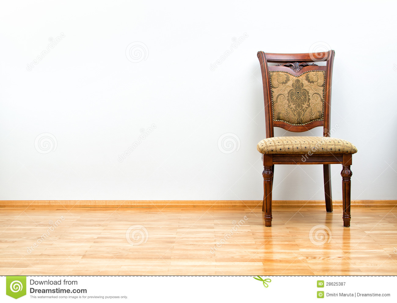 Interior With Classic Chair Stock Image Image Of Furniture Spacious 28625387