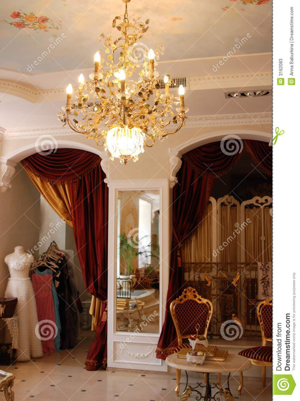 Interior in classic style stock image image of classic for Classic style interior