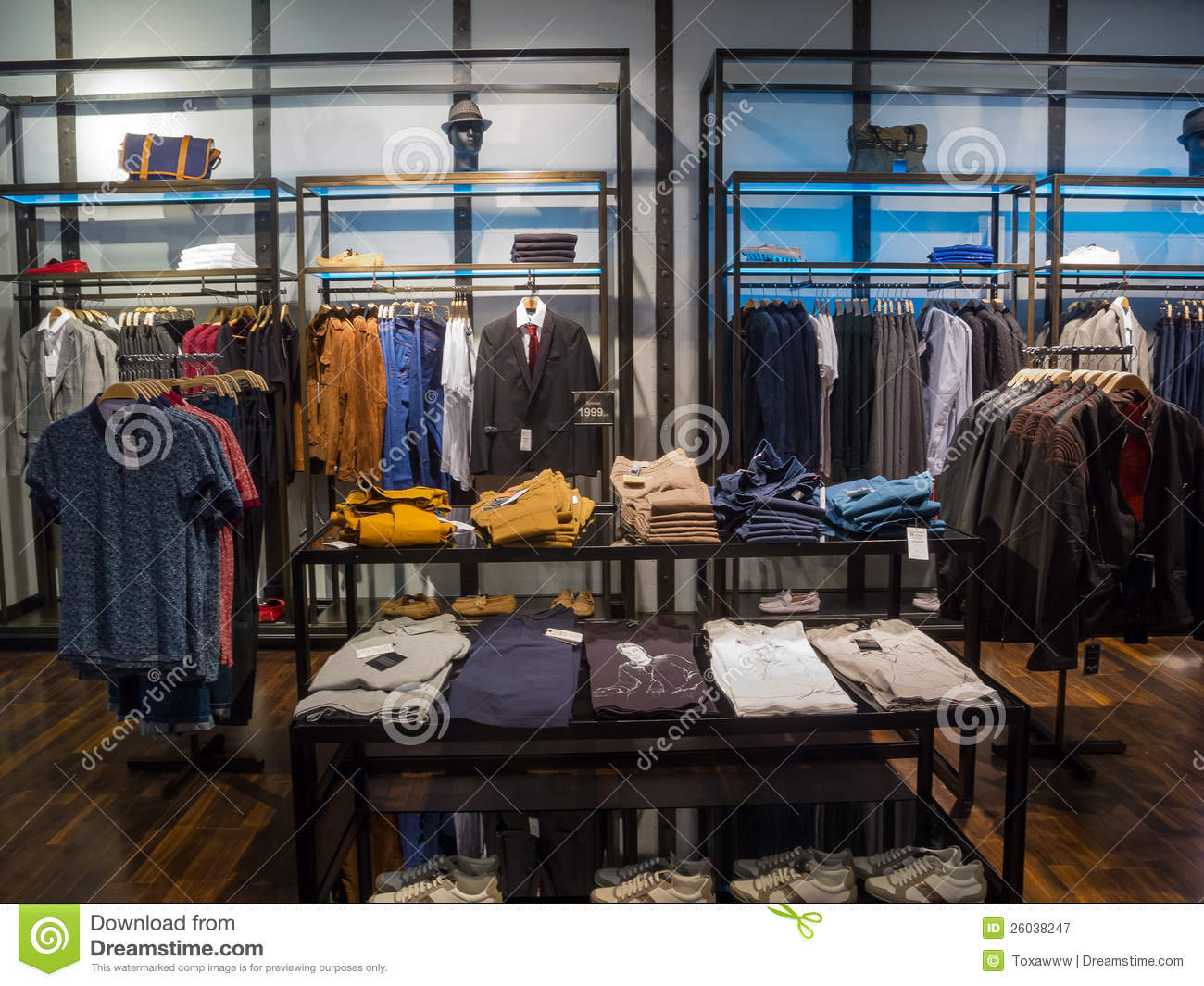 Image clothes store