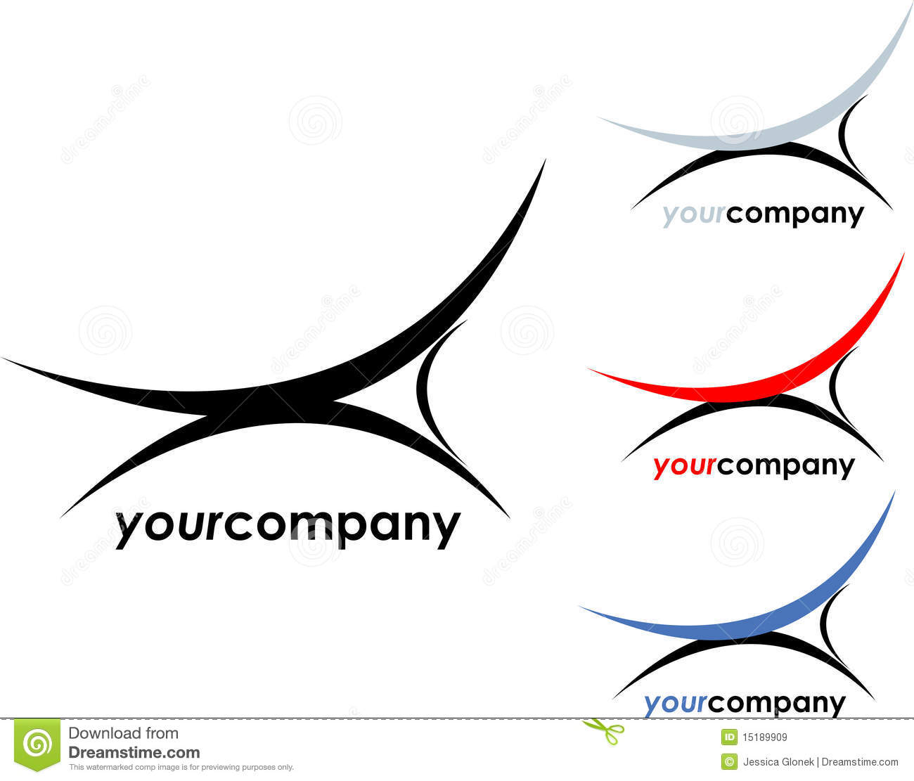 Interior Company Logo Stock Vector Illustration Of