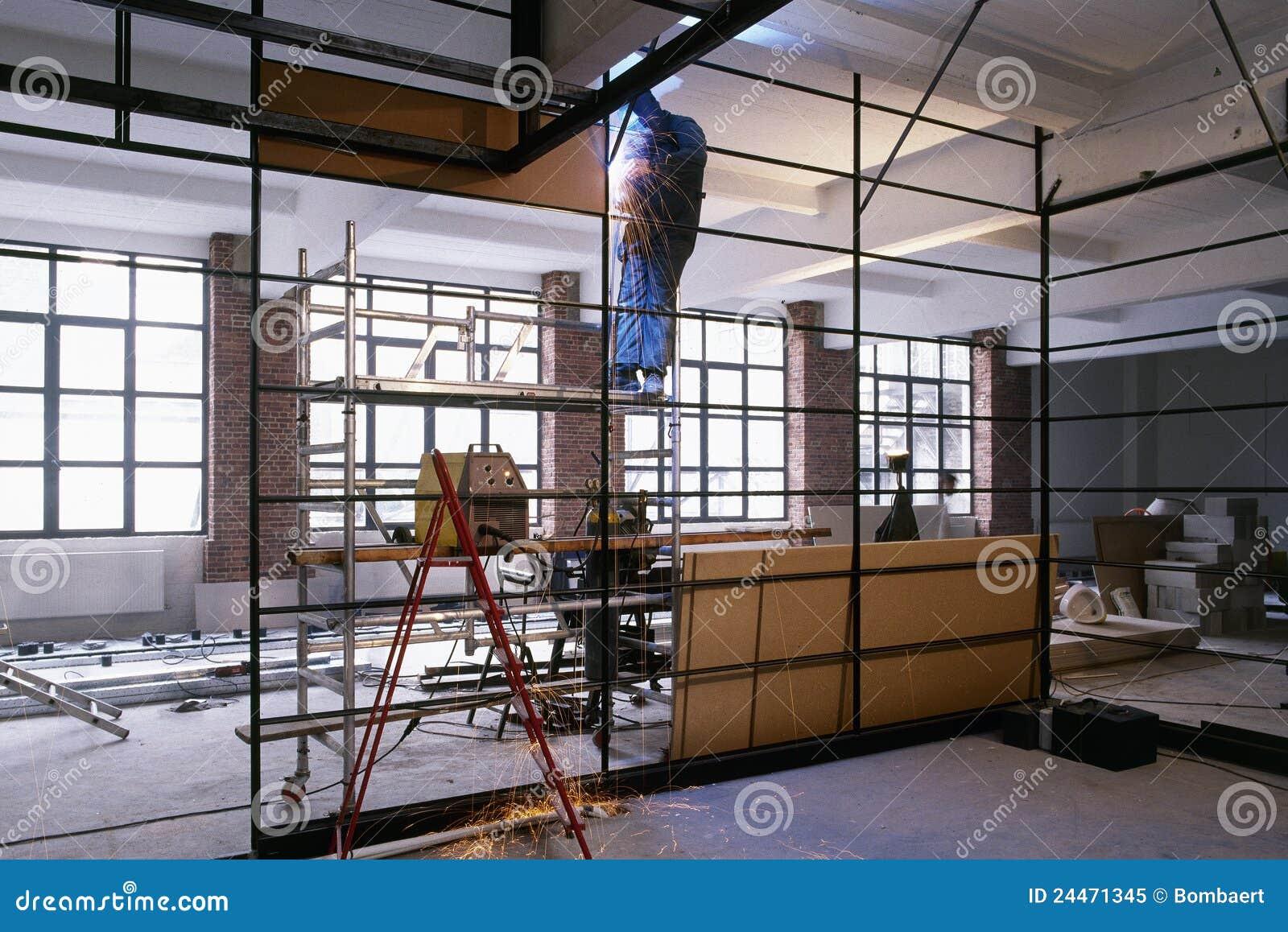 Interior Construction Site