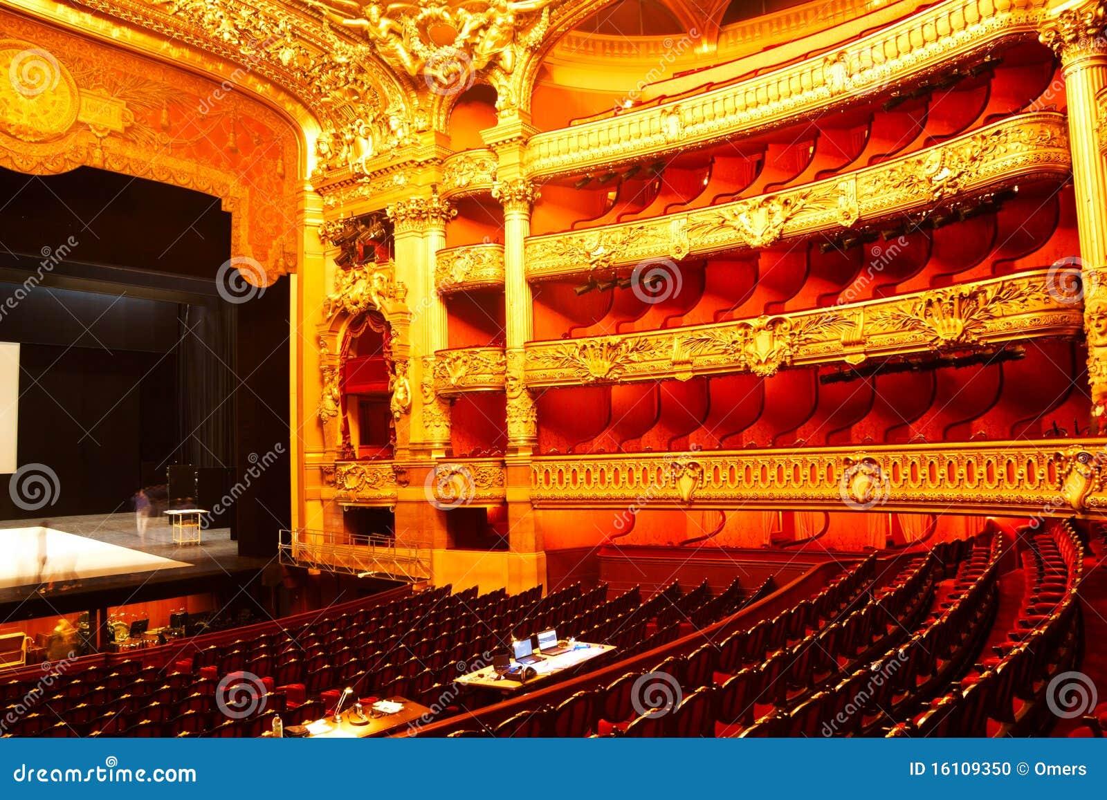 Interior da ópera