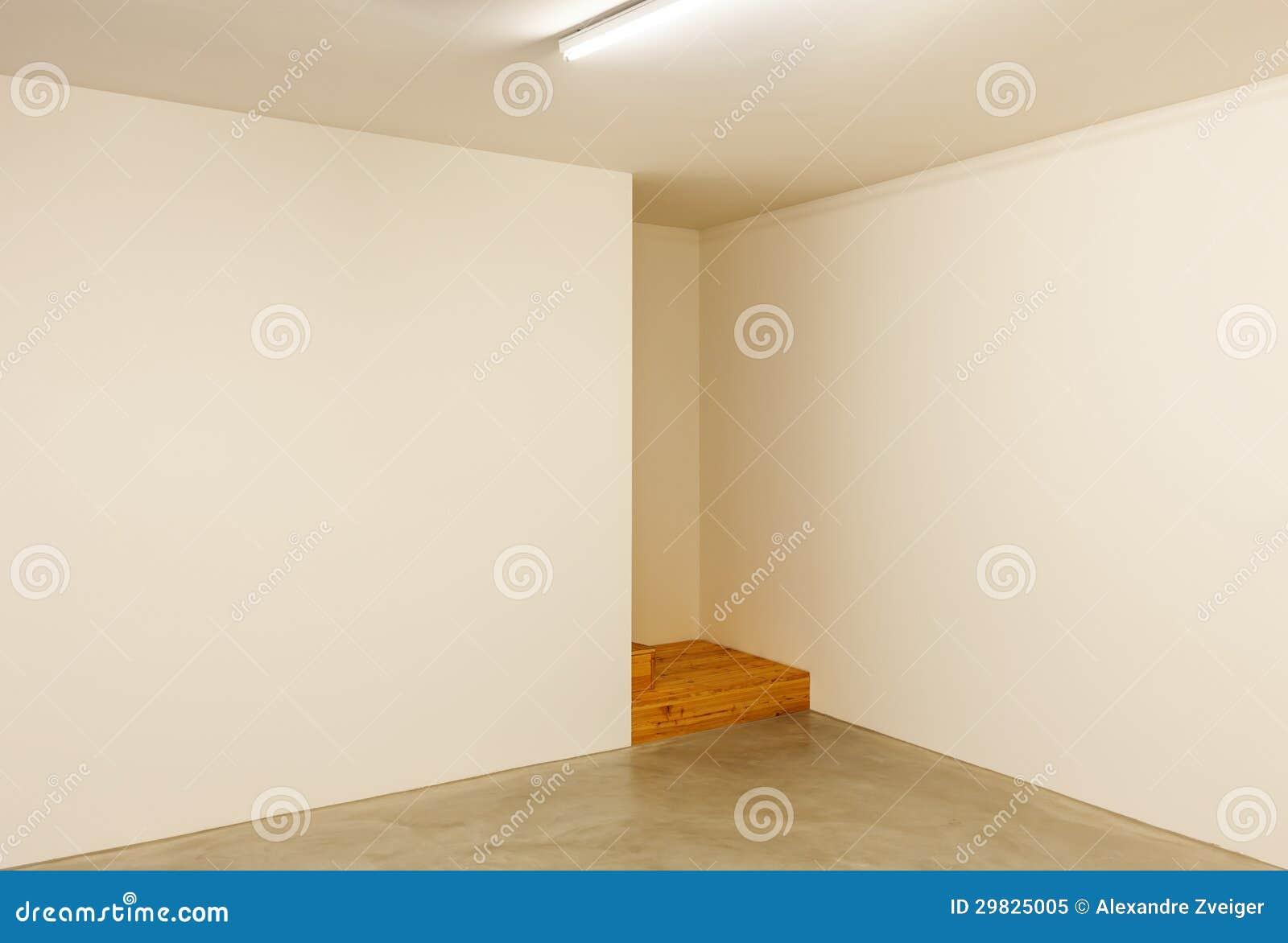 Sala vazia, interior