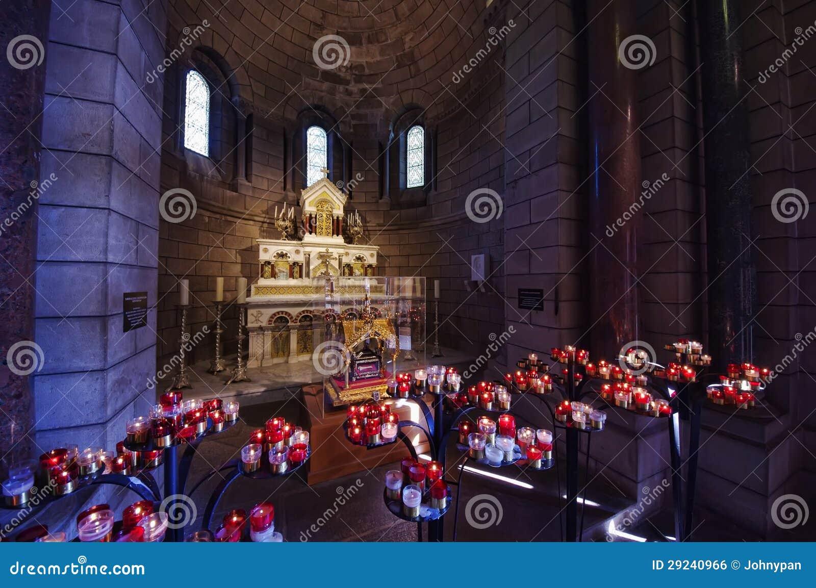 Download Interior Da Catedral De Monaco Foto de Stock - Imagem de inside, se: 29240966