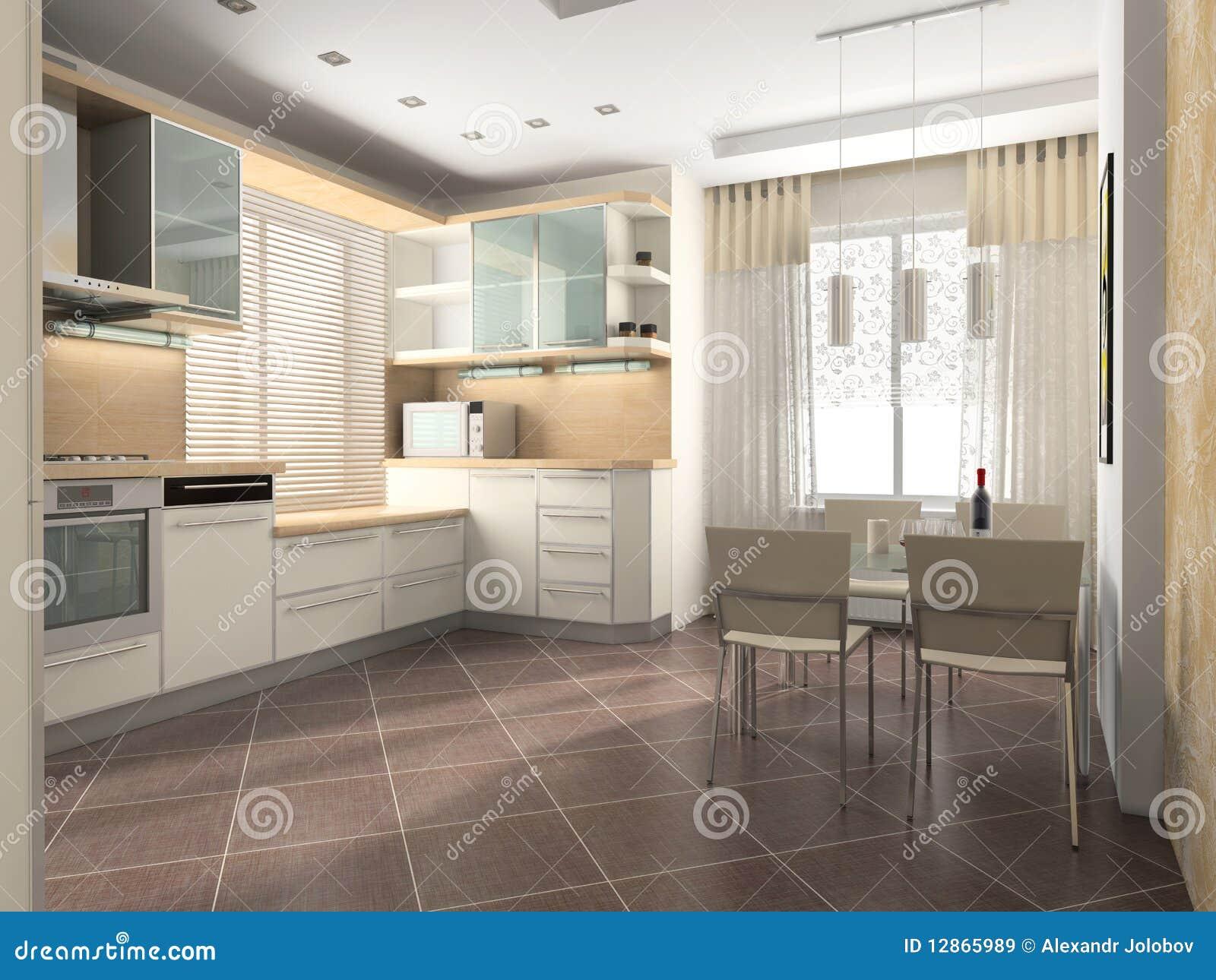 Interior Da Cozinha Imagens de Stock Royalty Free Imagem: 12865989 #82A328 1300 1065
