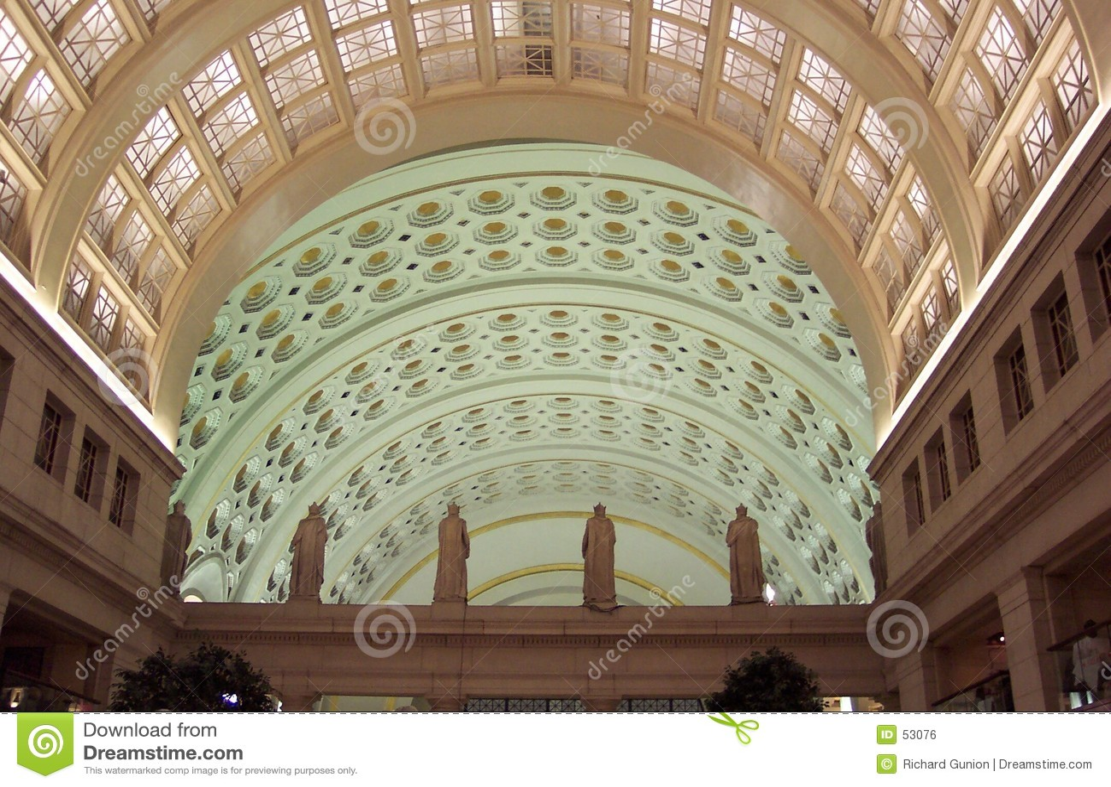 Interior da estação da união